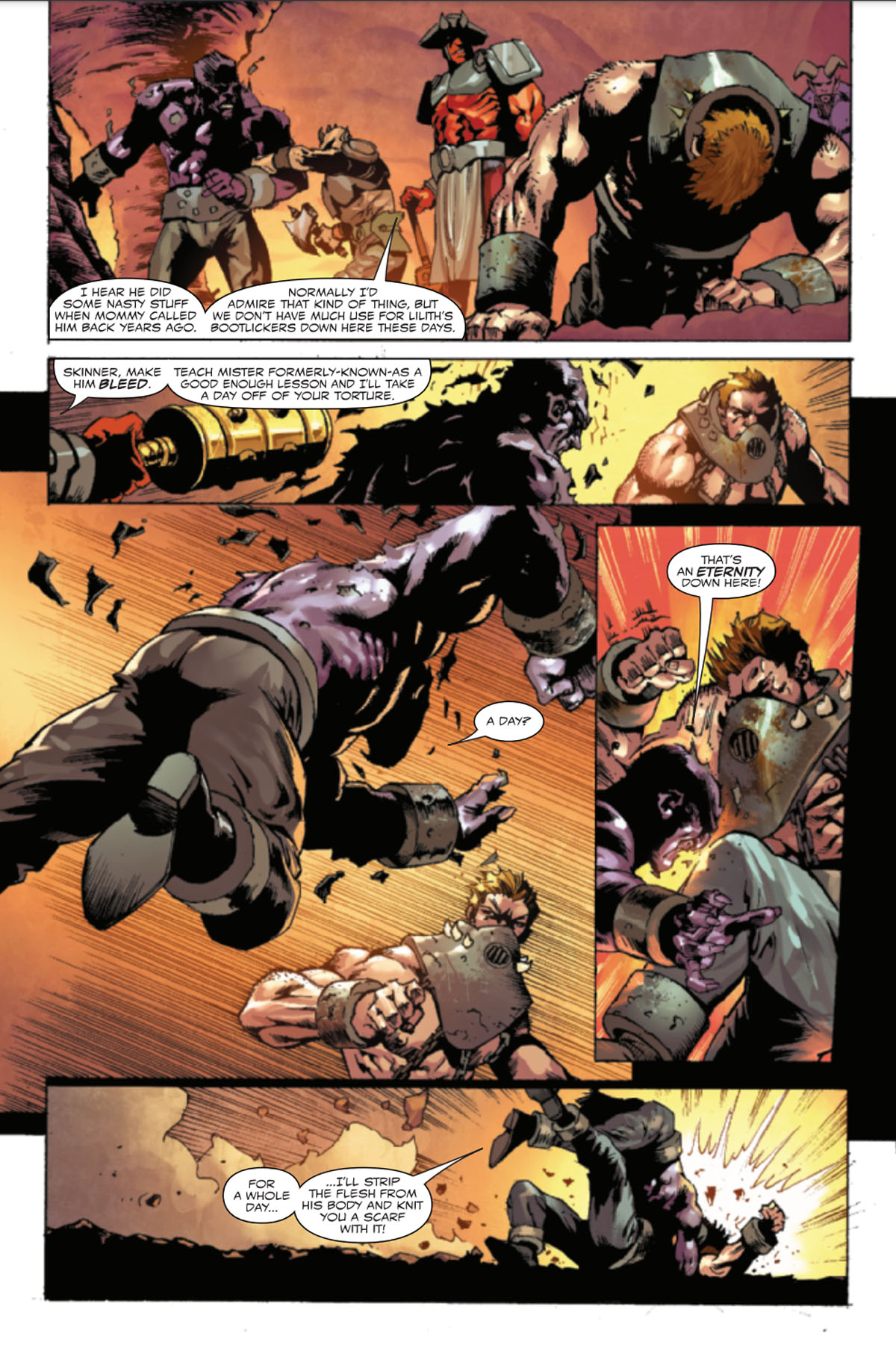 Ghost Rider: Return of Vengeance #1 page 2