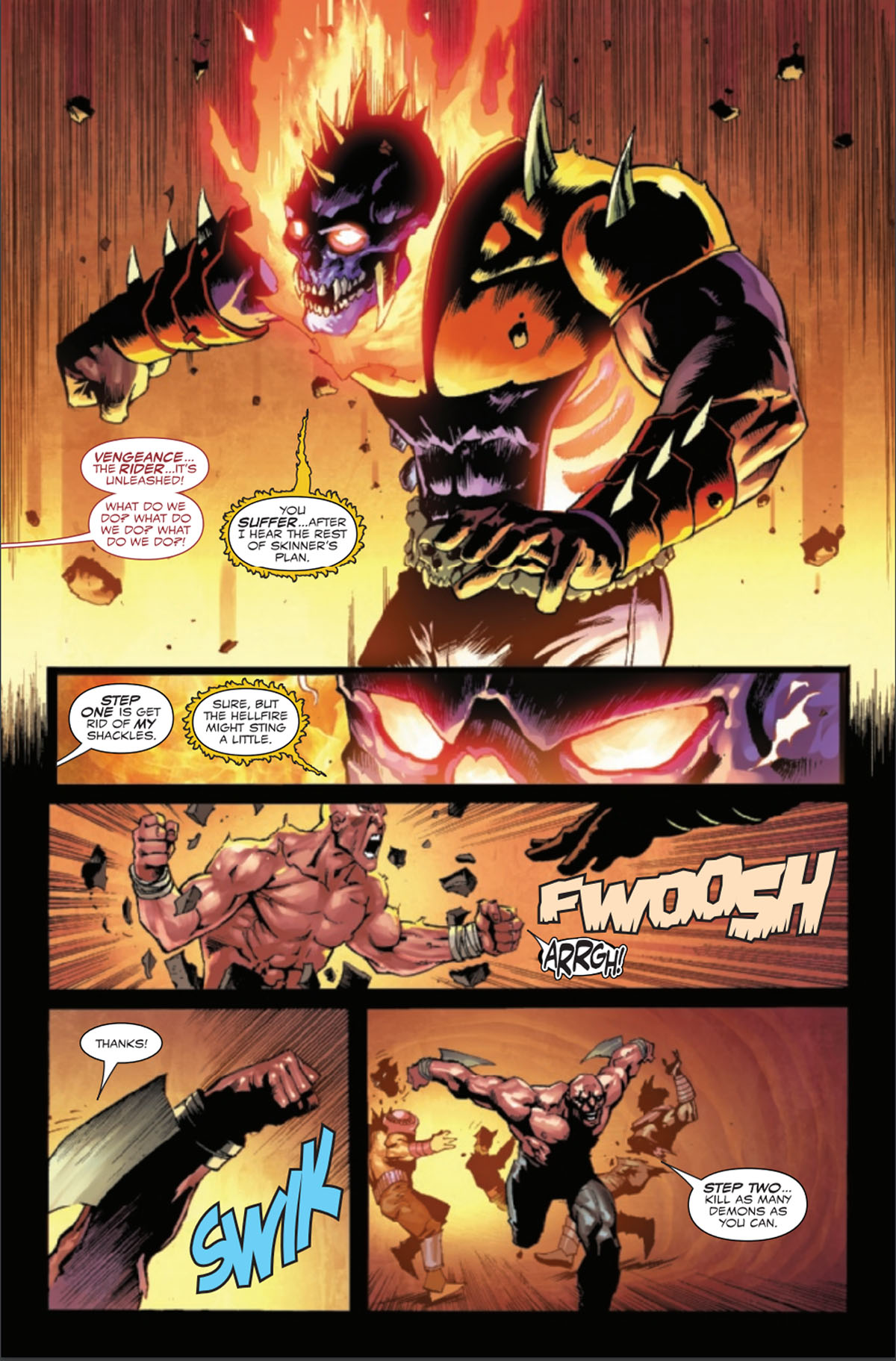 Ghost Rider: Return of Vengeance #1 page 4
