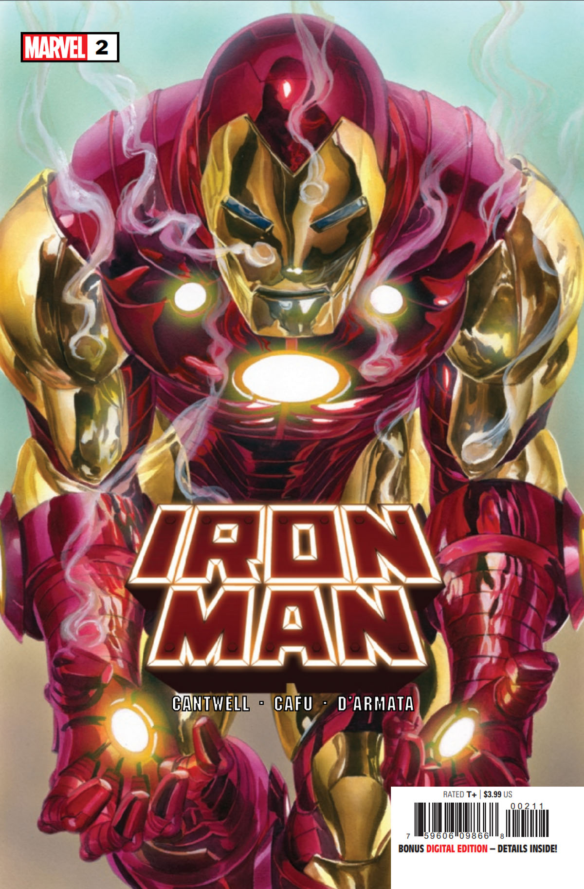Iron Man #2 cover