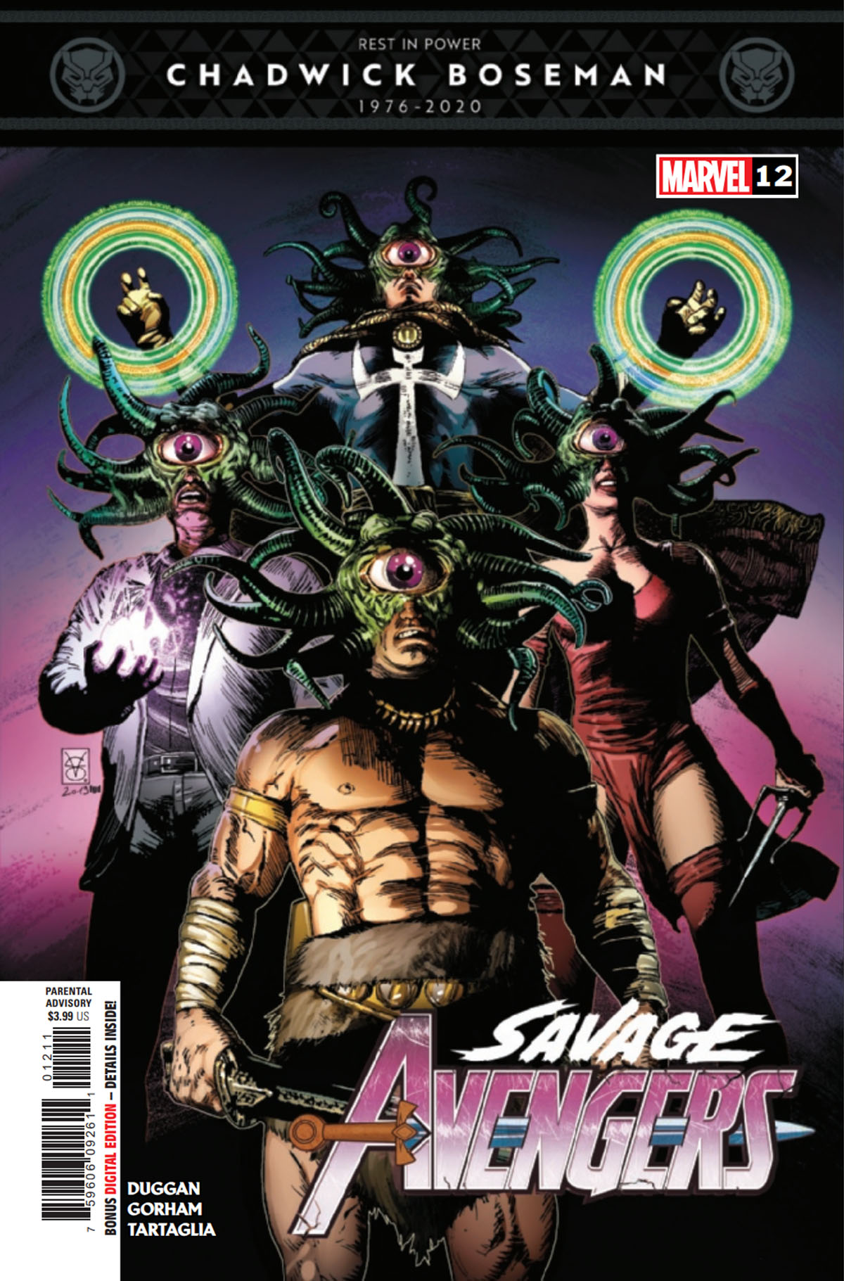 Savage Avengers #12 cover
