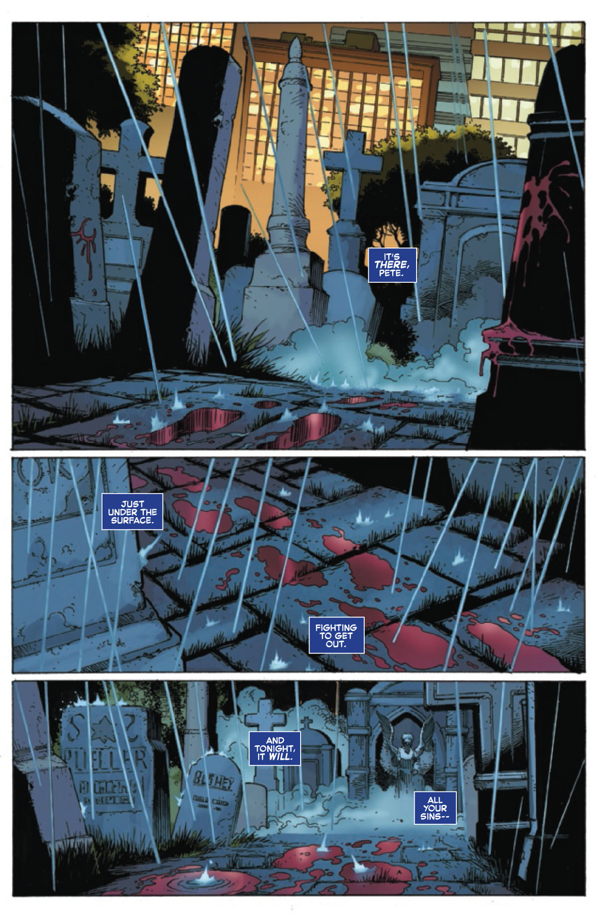 Sinister War #3 page 1