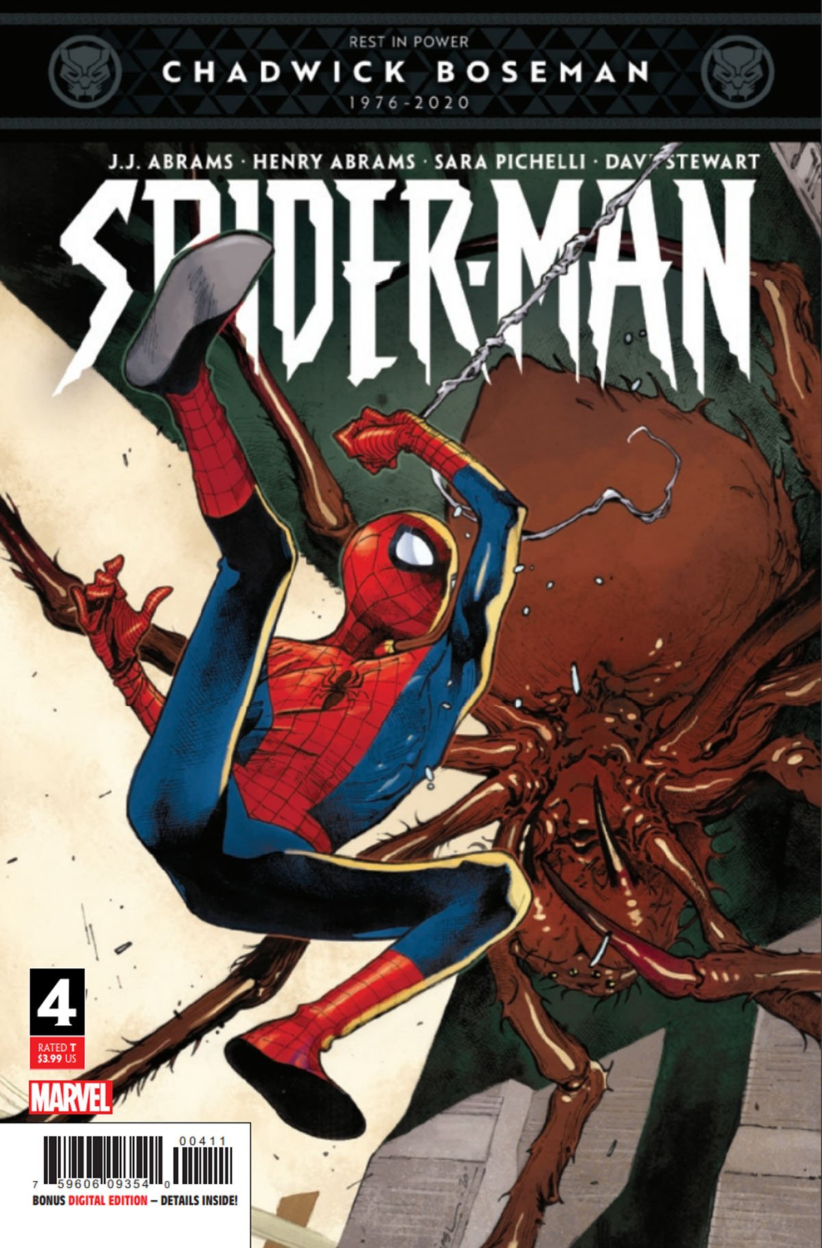 Spider-Man #4 cover