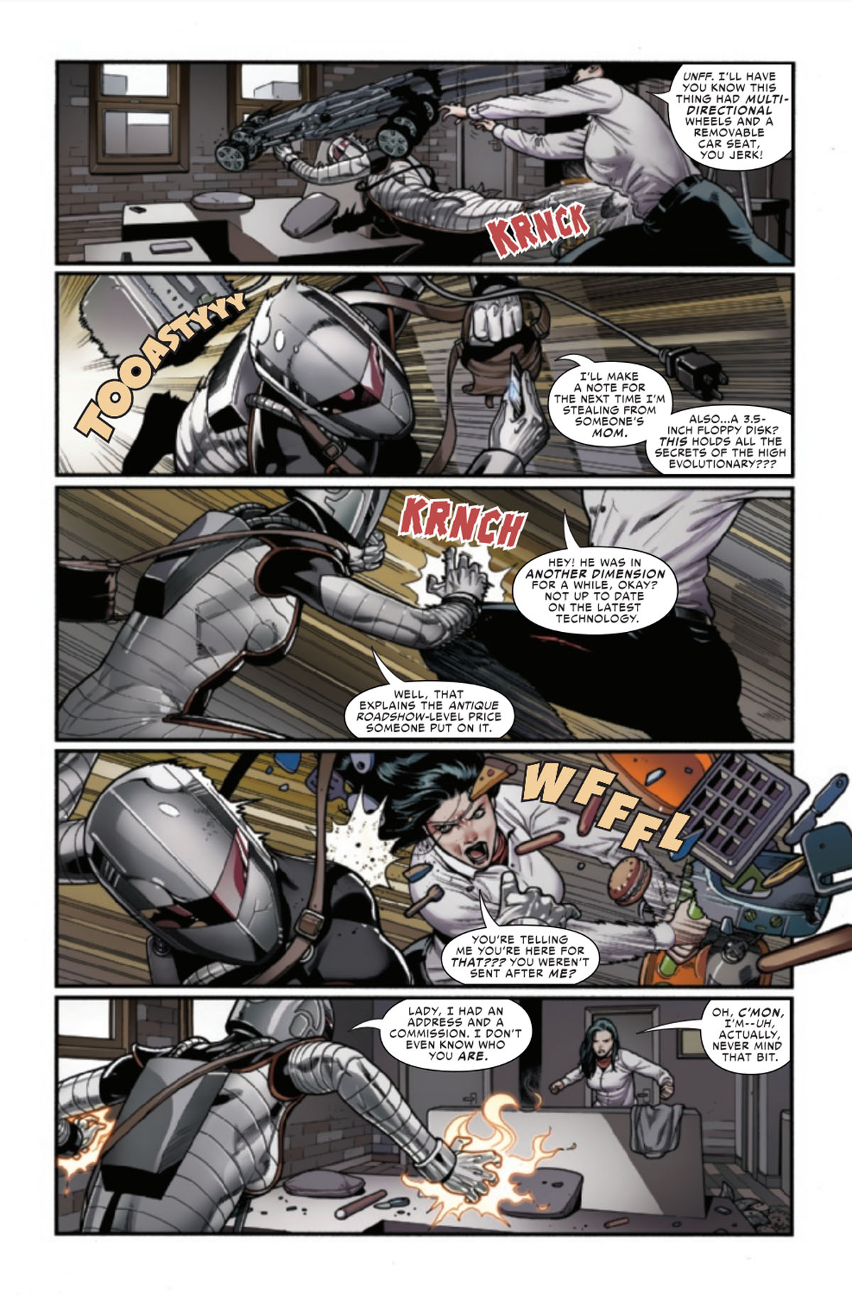 Spider-Woman #13 page 2