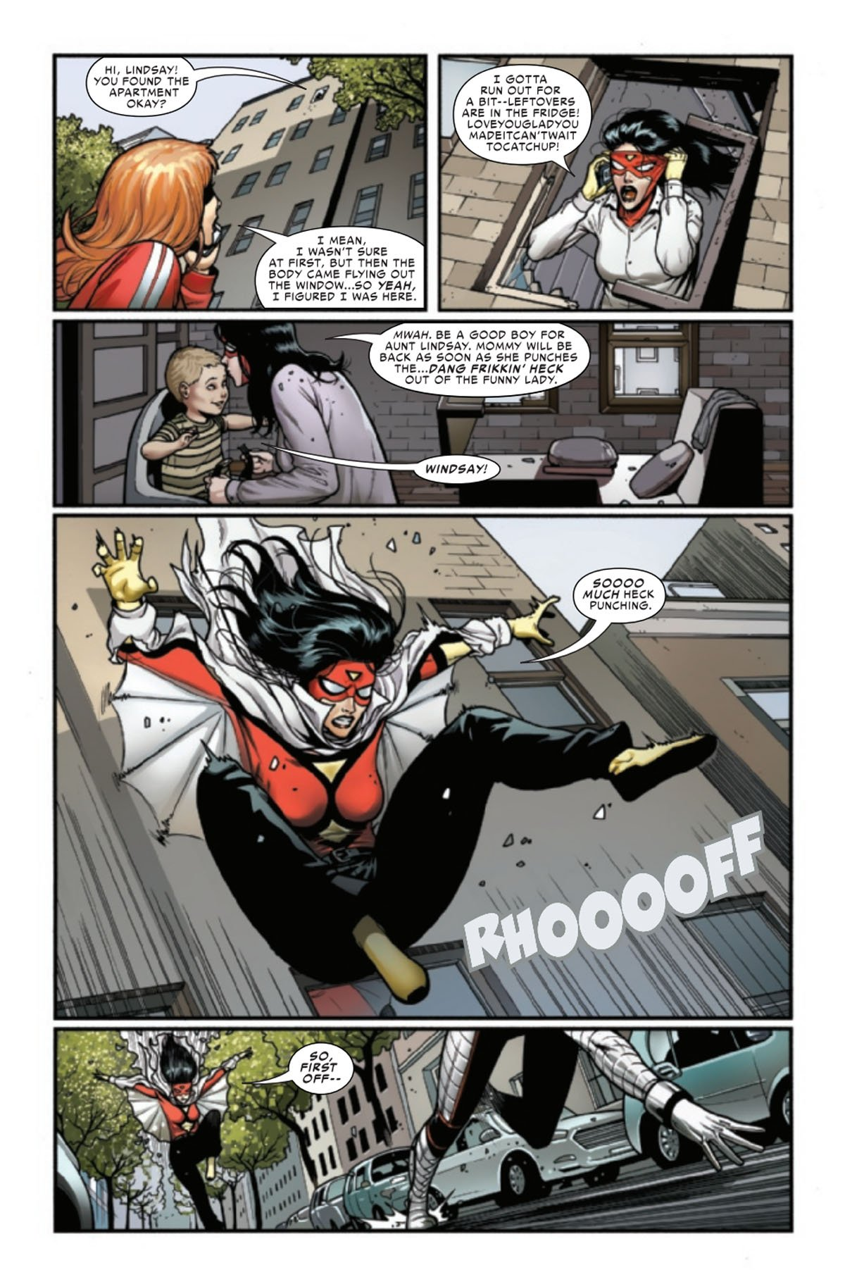 Spider-Woman #13 page 4
