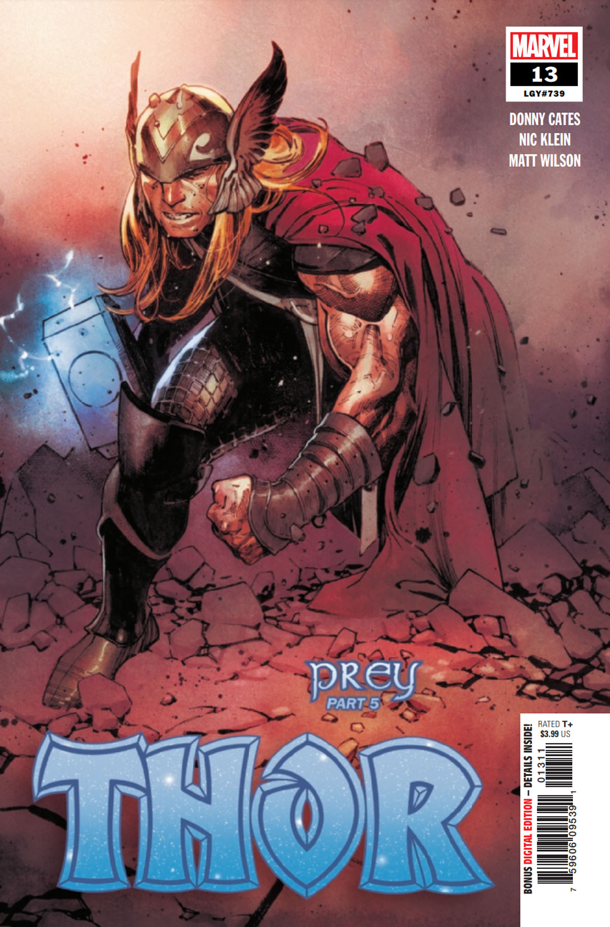 Thor #13 cover
