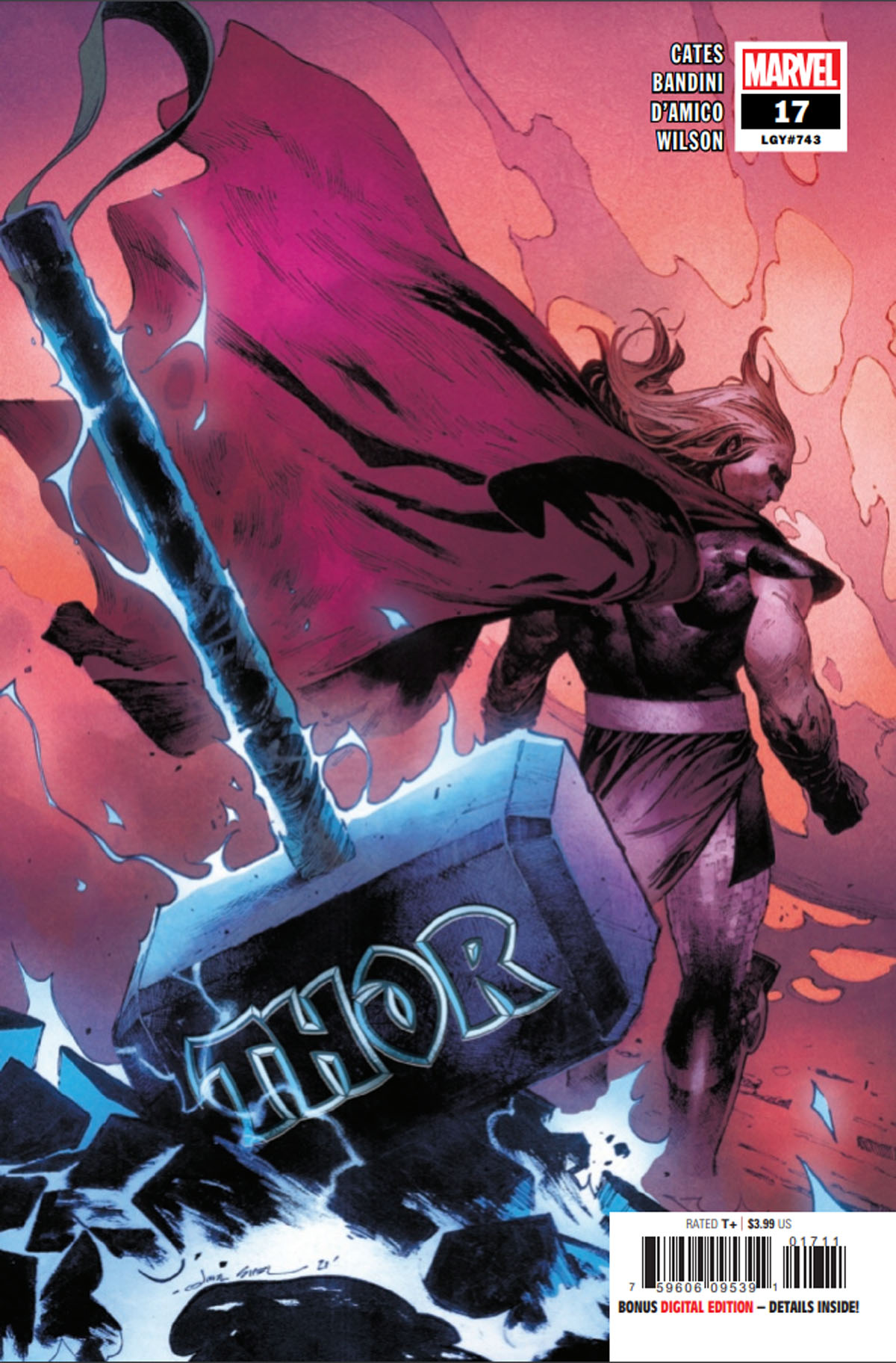 Thor #17 cover