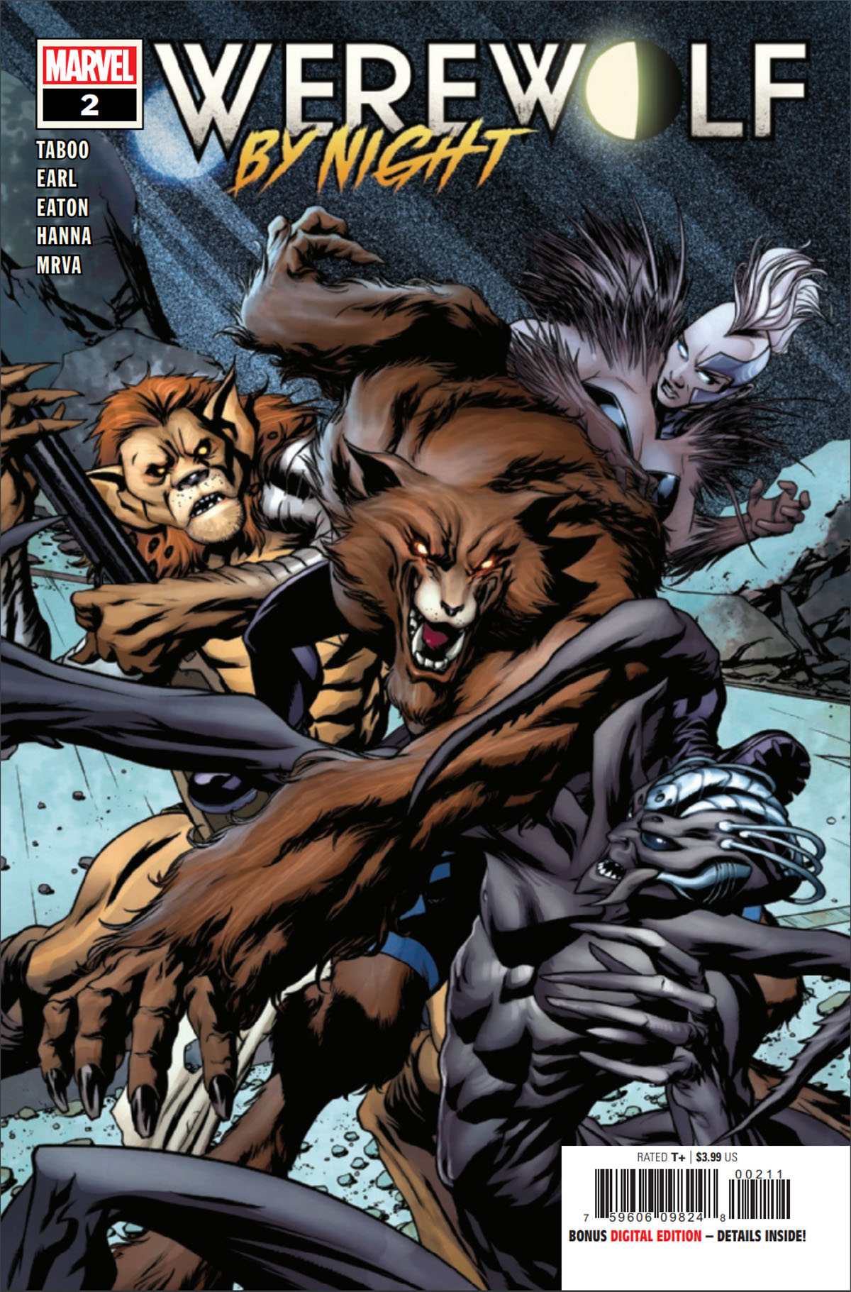 Werewolf by Night #2 cover