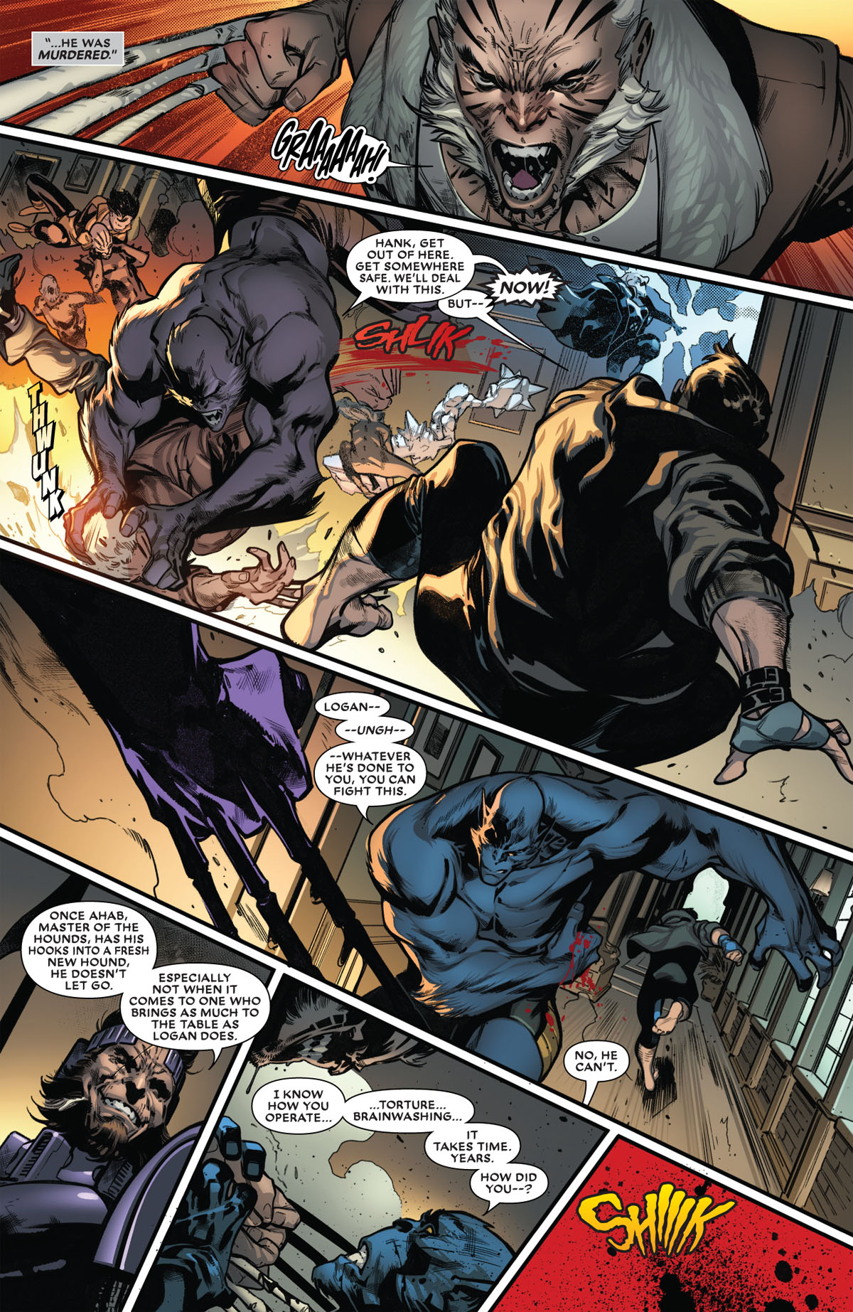 Extermination #3 page 3