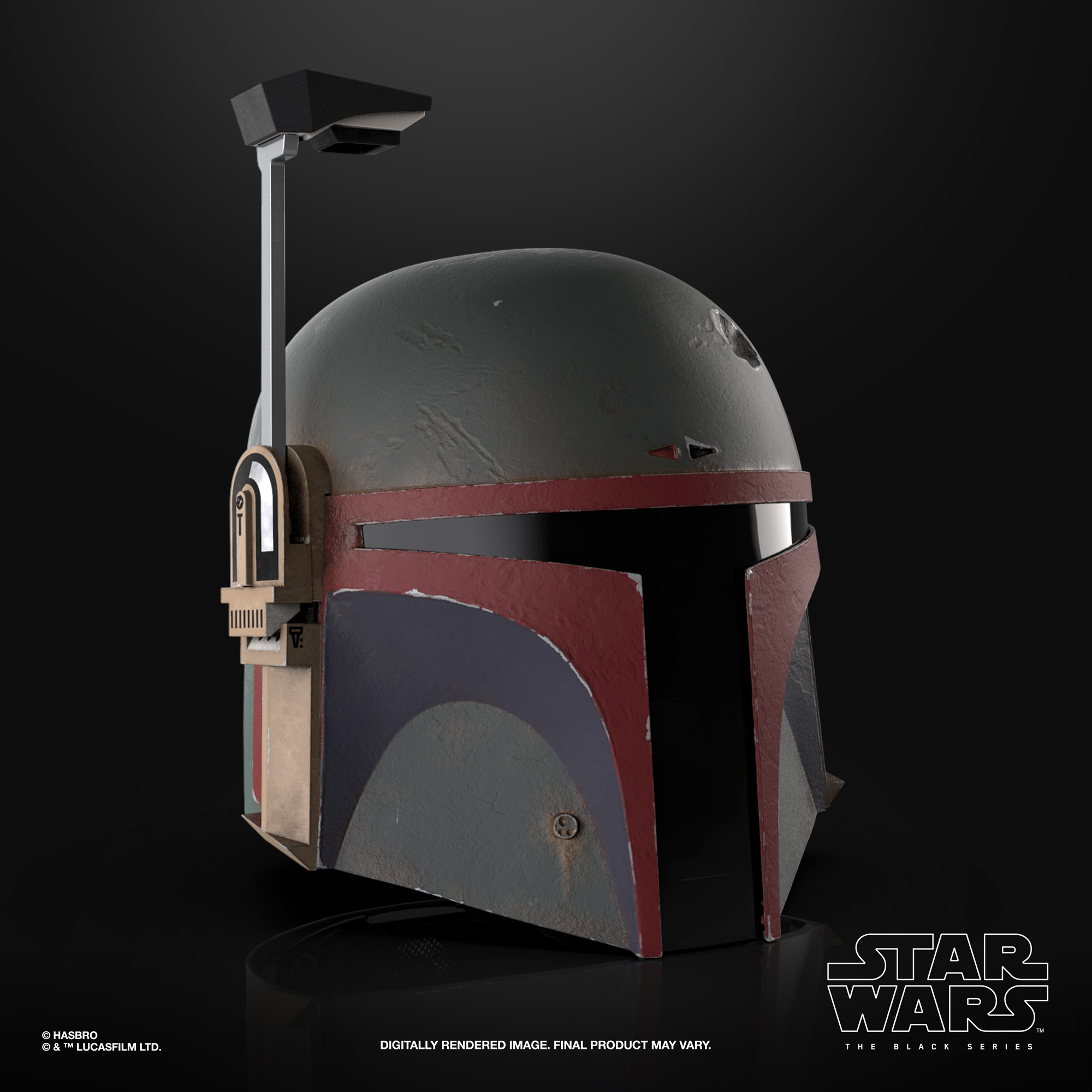 Boba Fett Re-Armored Helmet