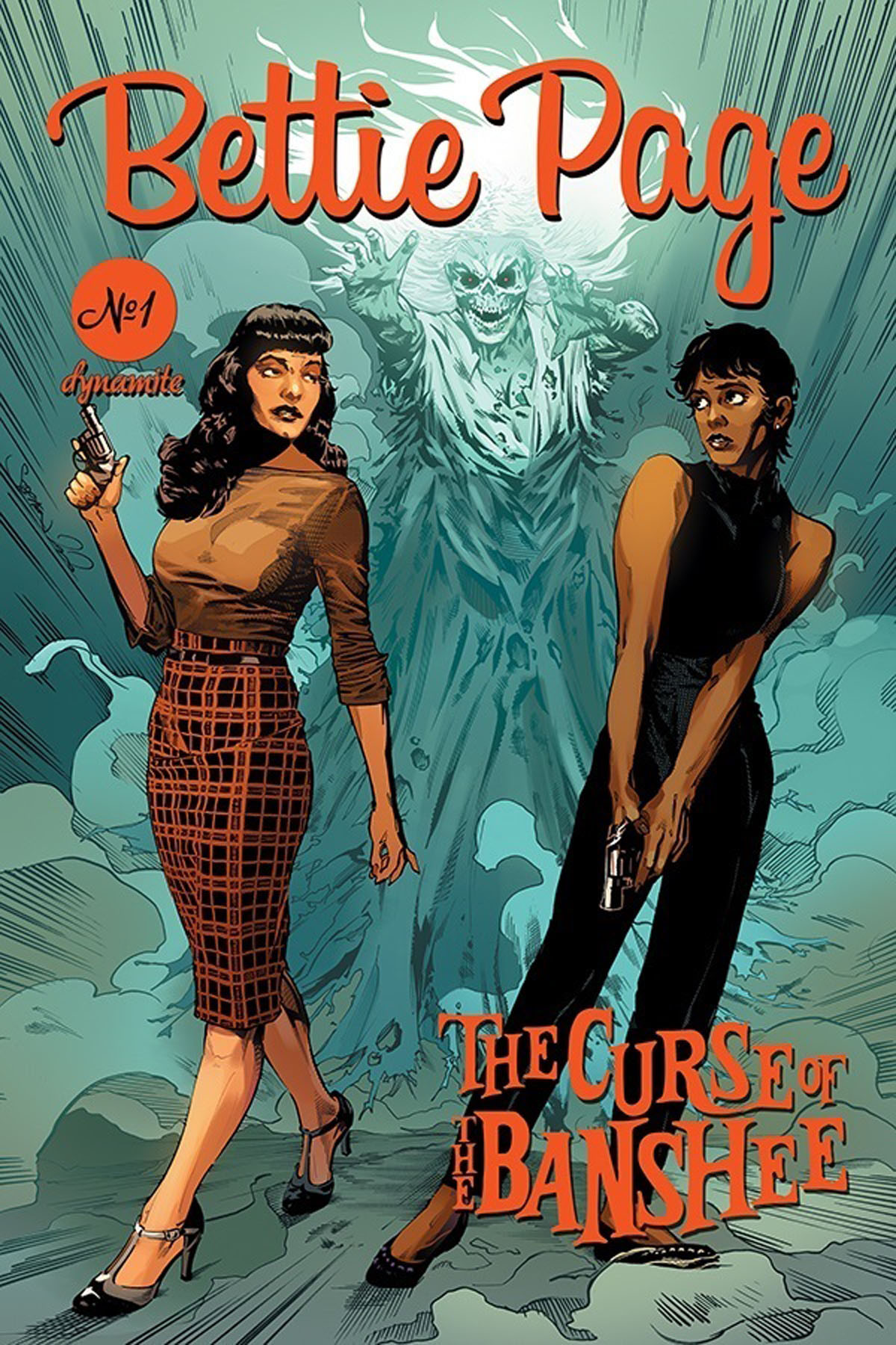 Bettie Page and the Curse of the Banshee #1 cover C by Mooney