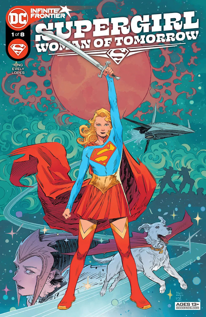 Supergirl: Woman of Tomorrow #1 Cover by Bilquis Evely