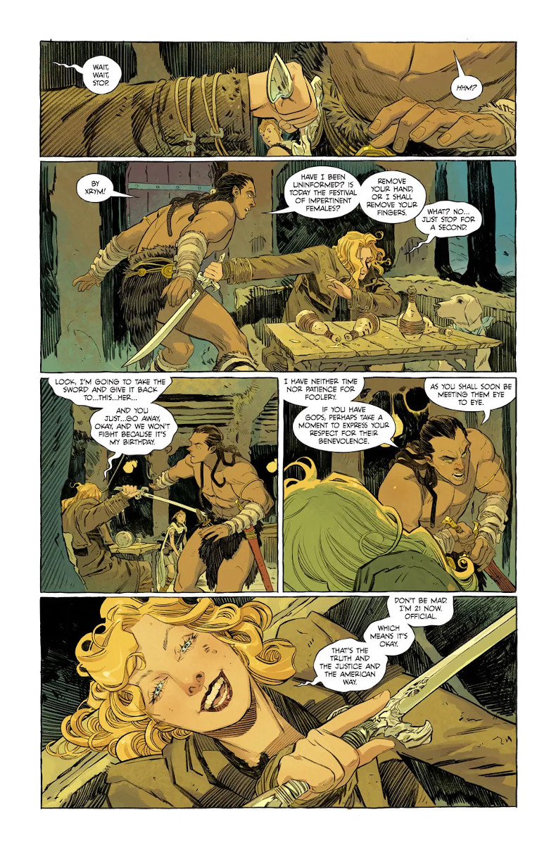 Supergirl: Woman of Tomorrow #1 Page 4
