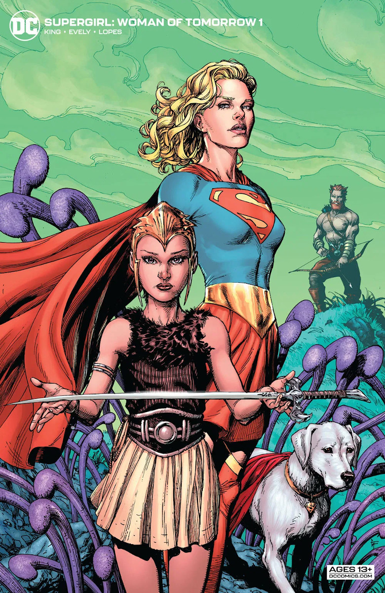 Supergirl: Woman of Tomorrow #1 Variant Cover by Gary Frank