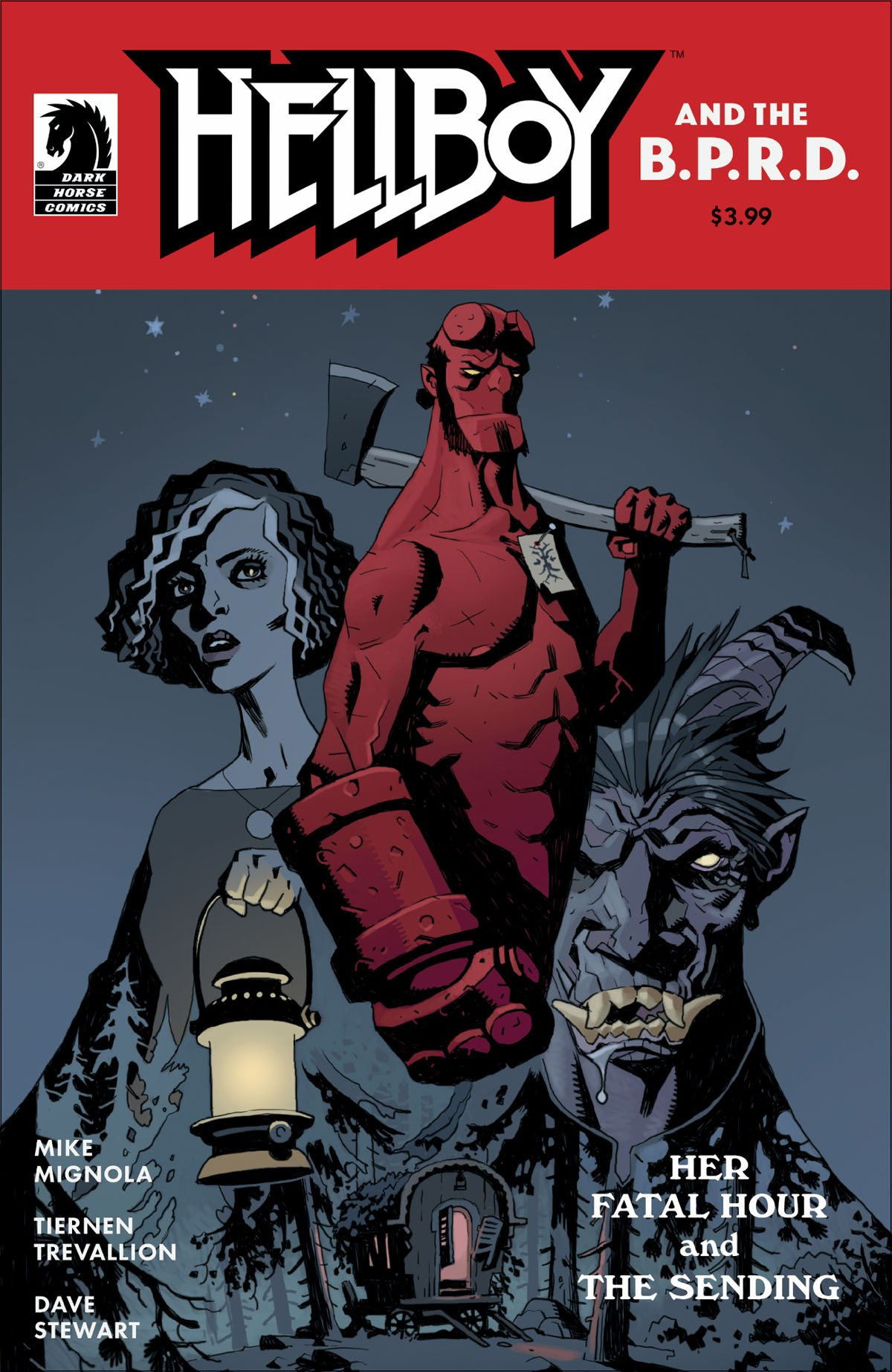 Hellboy and the BPRD: Her Fatal Hour #1 cover