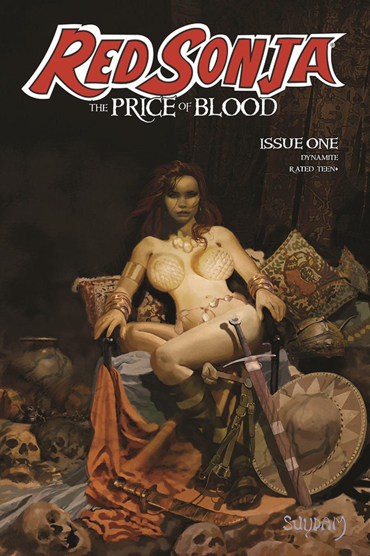 Red Sonja: The Price of Blood #1 cover A - Suydam