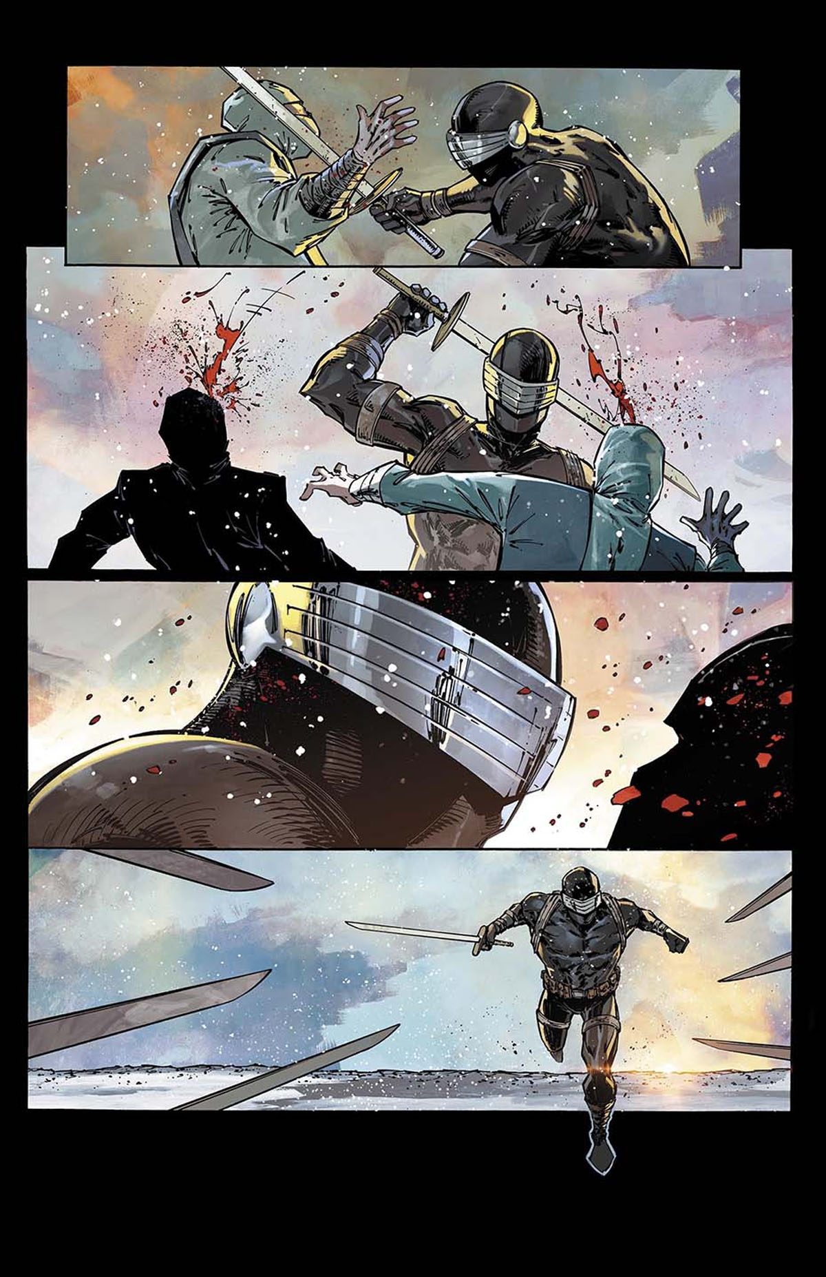 Snake Eyes: Deadgame #1 preview page 1