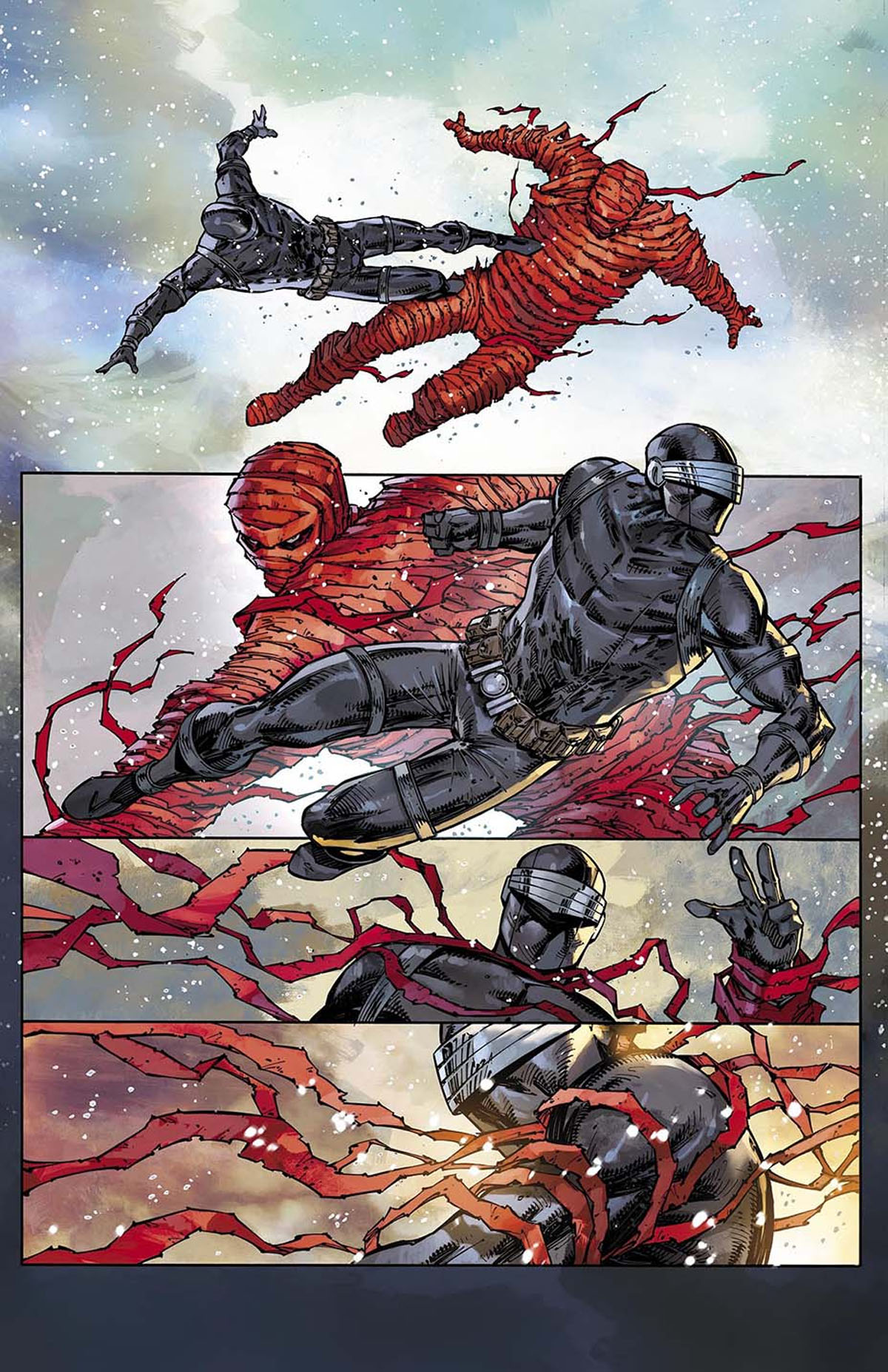 Snake Eyes: Deadgame #1 preview page 2