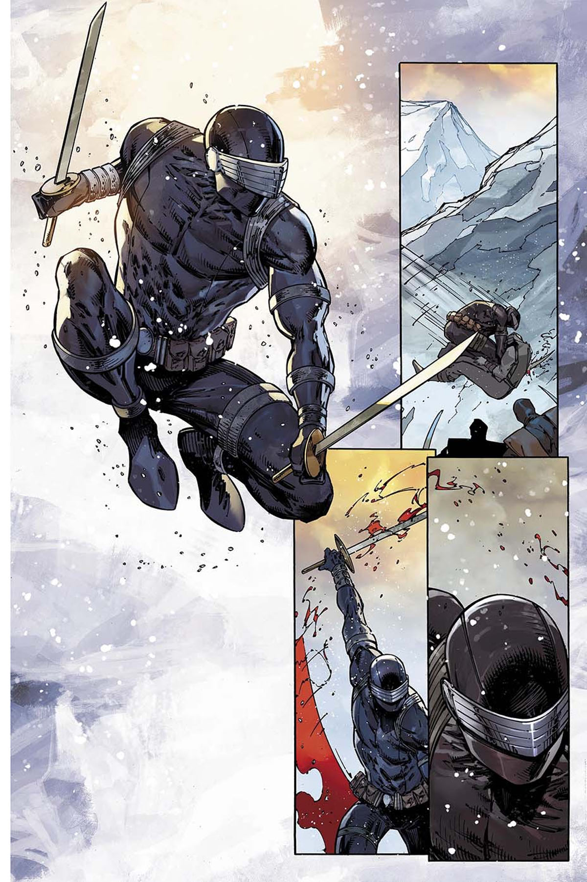 Snake Eyes: Deadgame #1 preview page 3