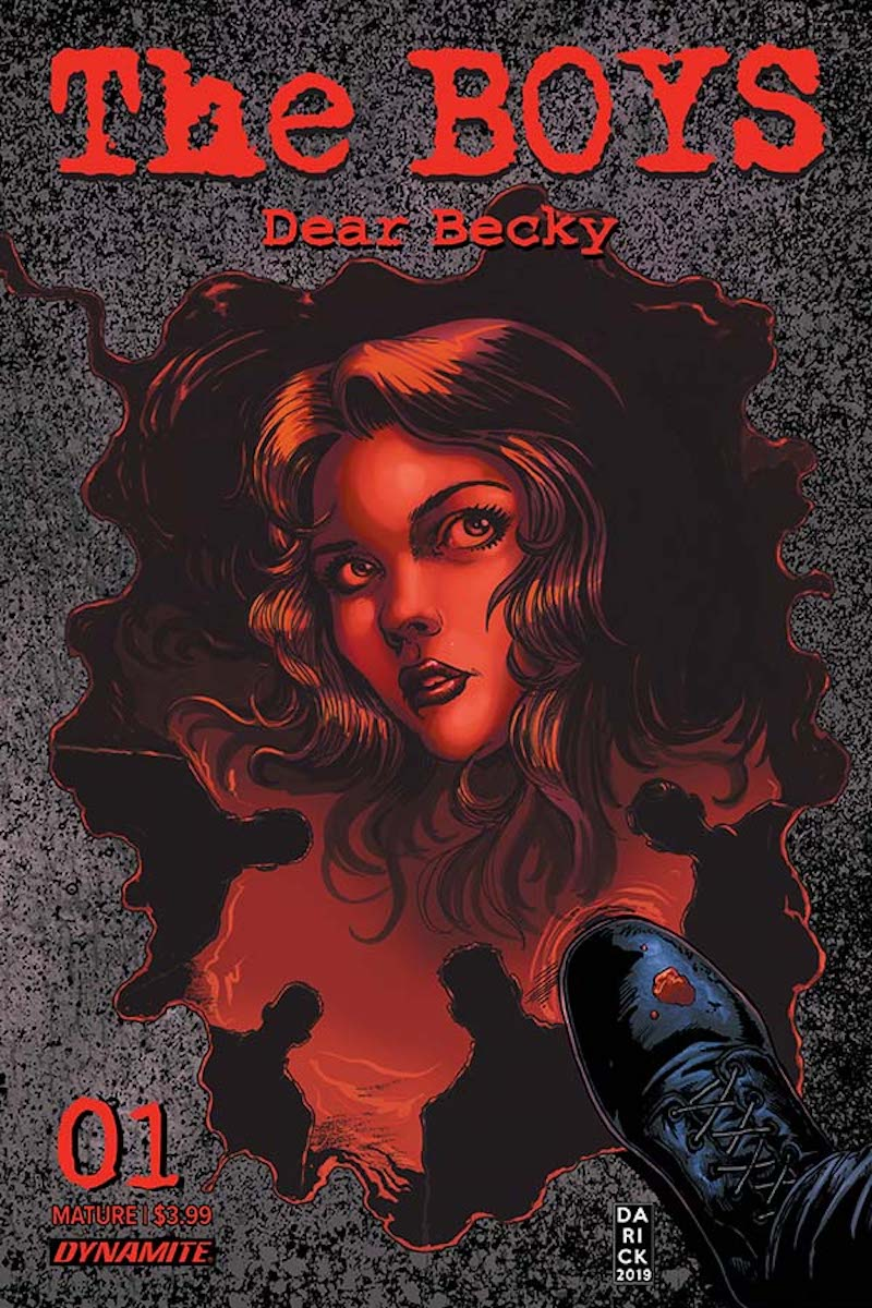 The Boys: Dear Becky #1 Cover by Darick Robertson
