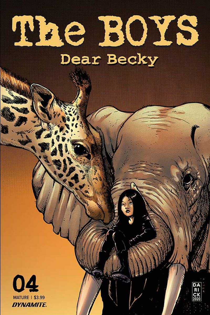 The Boys: Dear Becky #4 Cover by Darick Robertson