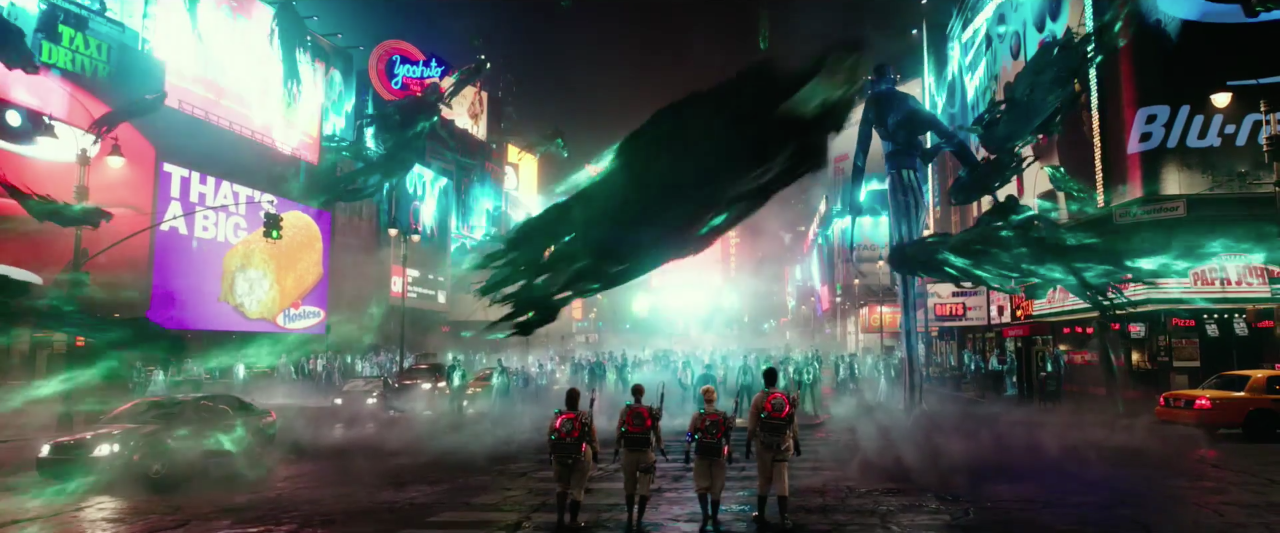 check out over 80 ghostbusters trailer screenshots