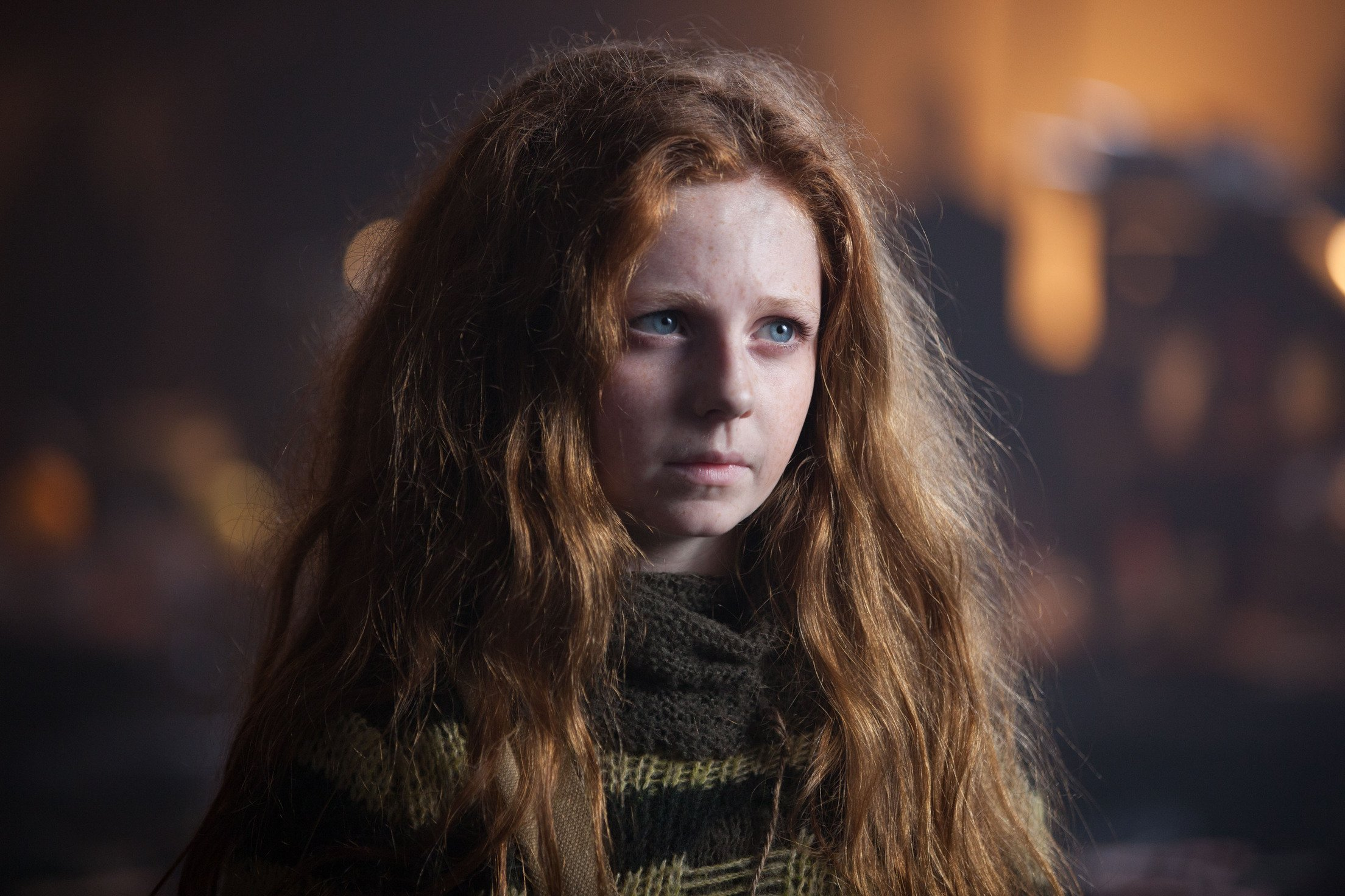 """GOTHAM: Clare Foley as Ivy Pepper in the """"Lovecraft"""" episode of GOTHAM airing Monday, Nov. 24 (8:00-9:00 PM ET/PT) on FOX. ©2014 Fox Broadcasting Co. Cr: Jessica Miglio/FOX"""