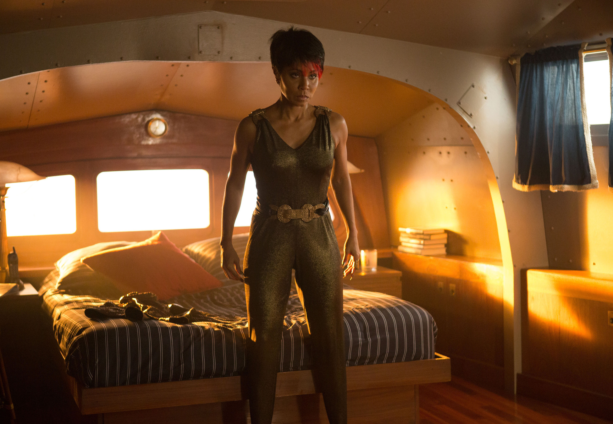 "GOTHAM: Jada Pinkett Smith as Fish Mooney in the ""The Fearsome Dr. Crane"" episode of GOTHAM airing Monday, Feb. 2 (8:00-9:00 PM ET/PT) on FOX. ©2015 Fox Broadcasting Co. Cr: Jessica Miglio/FOX"