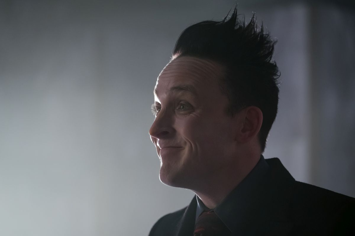 """GOTHAM: Robin Lord Taylor in the """"Trial of Jim Gordon"""" episode of GOTHAM airing Thursday, March 7 (8:00-9:00 PM ET/PT) on FOX. ©2019 Fox Broadcasting Co. Cr: Jeff Neumann/FOX"""