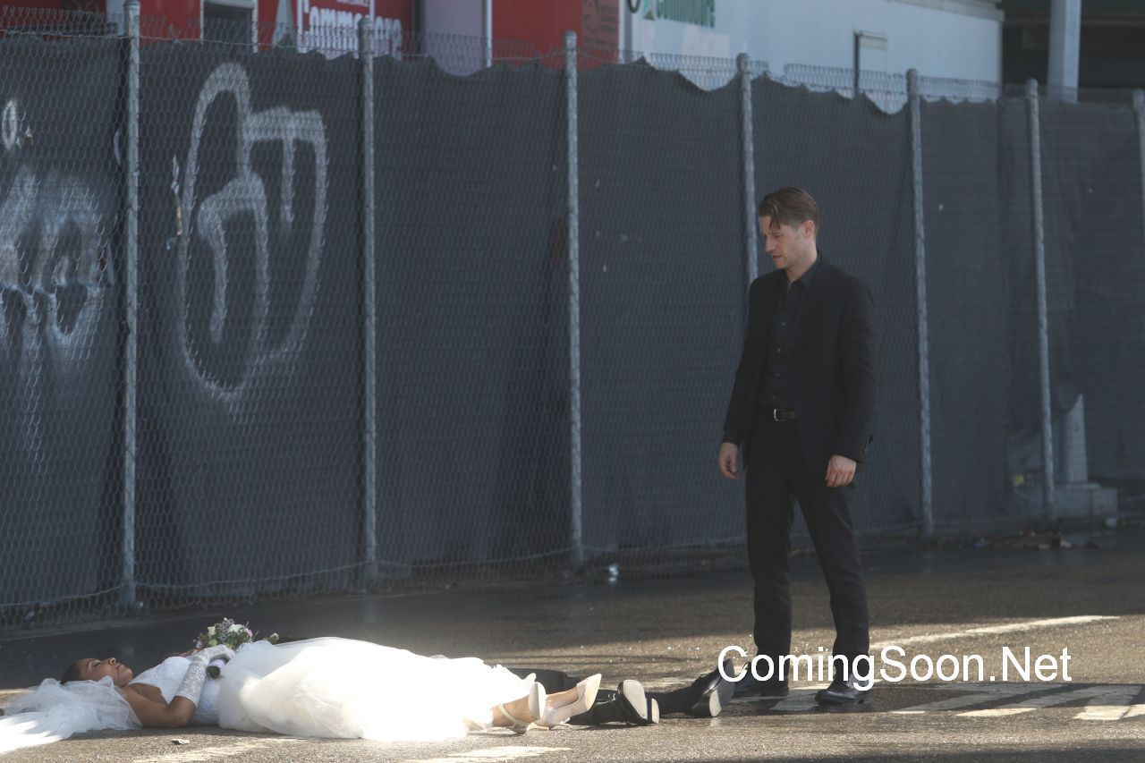 Actors are on set for the filming of 'Gotham' tv showFeaturing: Ben McKenzieWhere: New York City, New York, United StatesWhen: 23 Aug 2016Credit: Macguyver/WENN.com