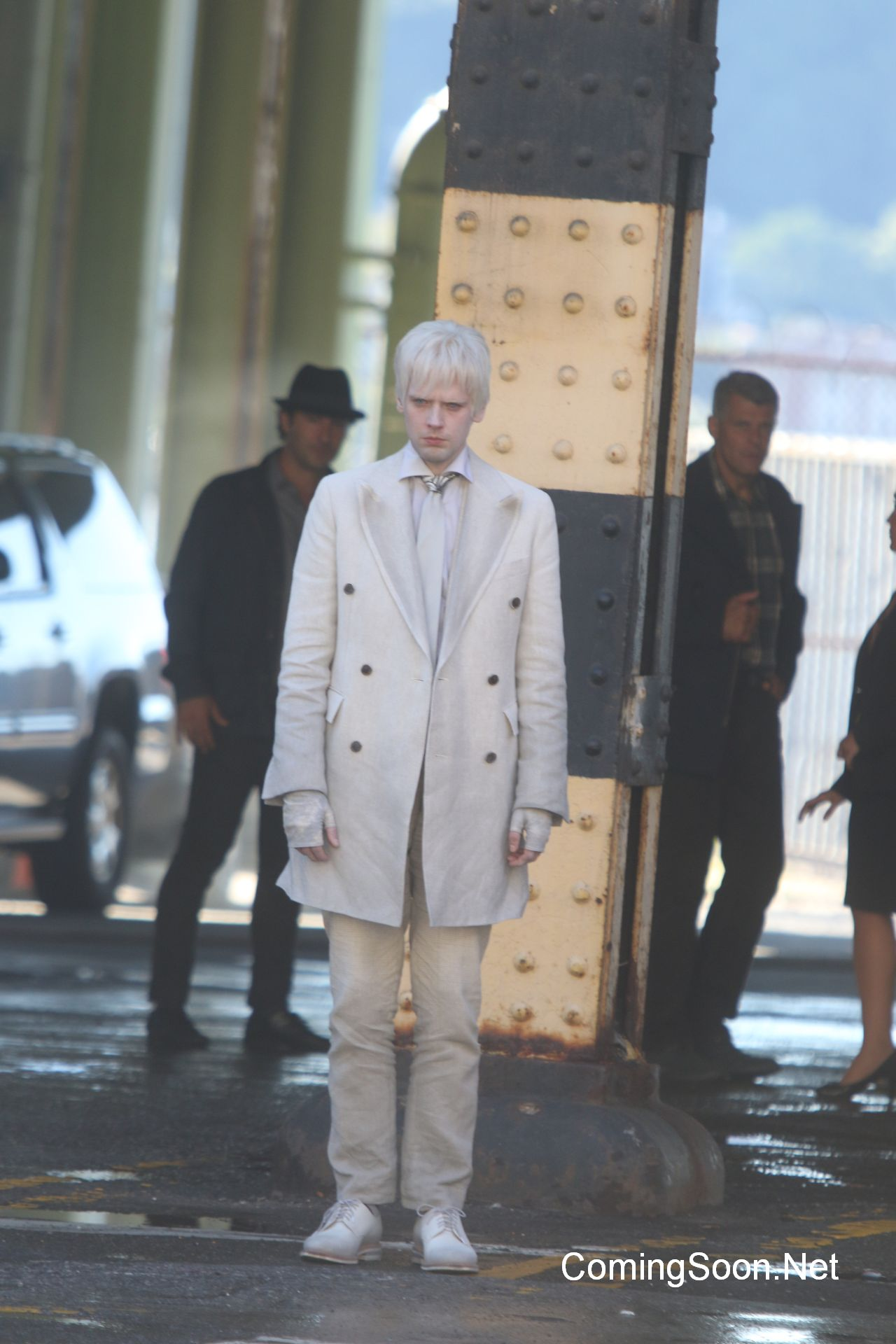 Actors are on set for the filming of 'Gotham' tv showFeaturing: Kieran MulcareWhere: New York City, New York, United StatesWhen: 23 Aug 2016Credit: Macguyver/WENN.com