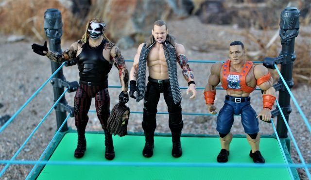 Scale with Mattel WWE and Jazwares AEW