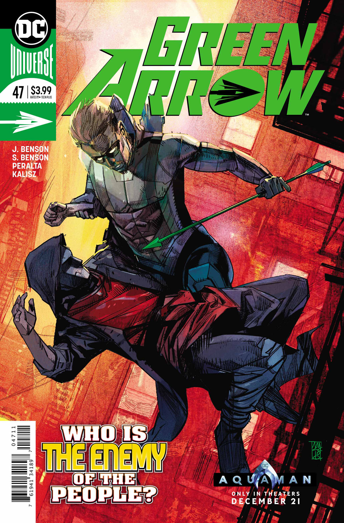 Green Arrow #47 cover