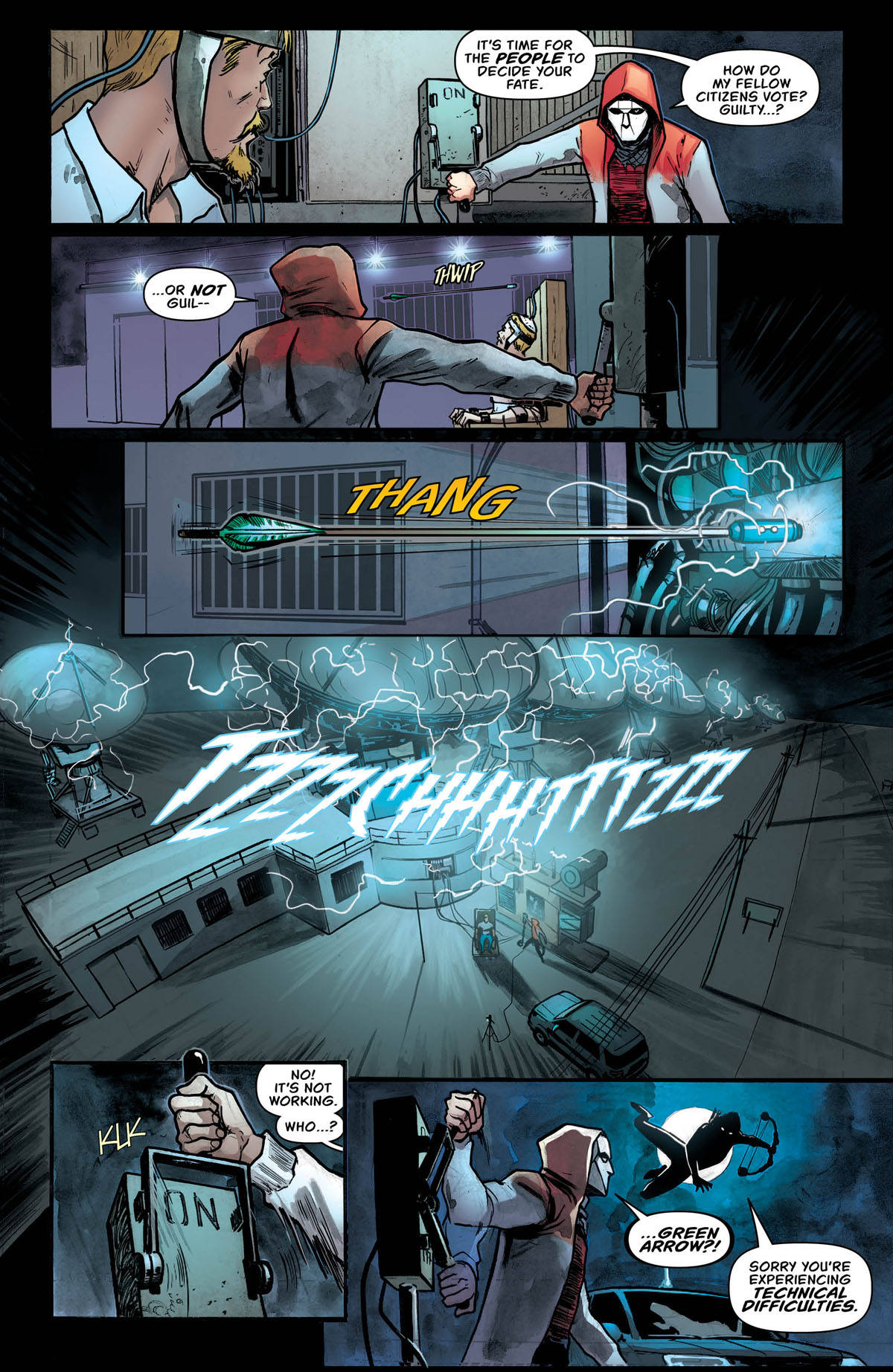 Green Arrow #47 page 5