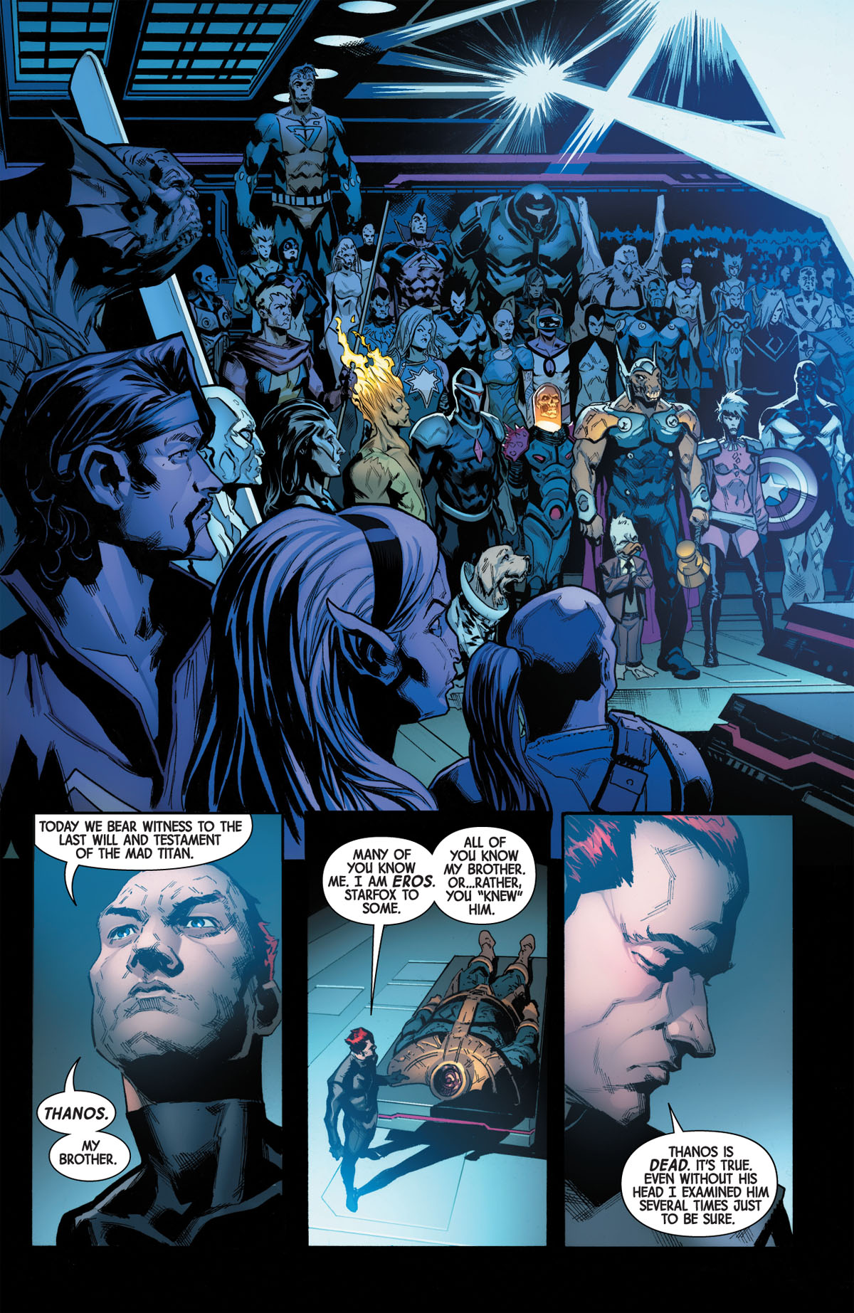 Guardians of the Galaxy #1 page 2