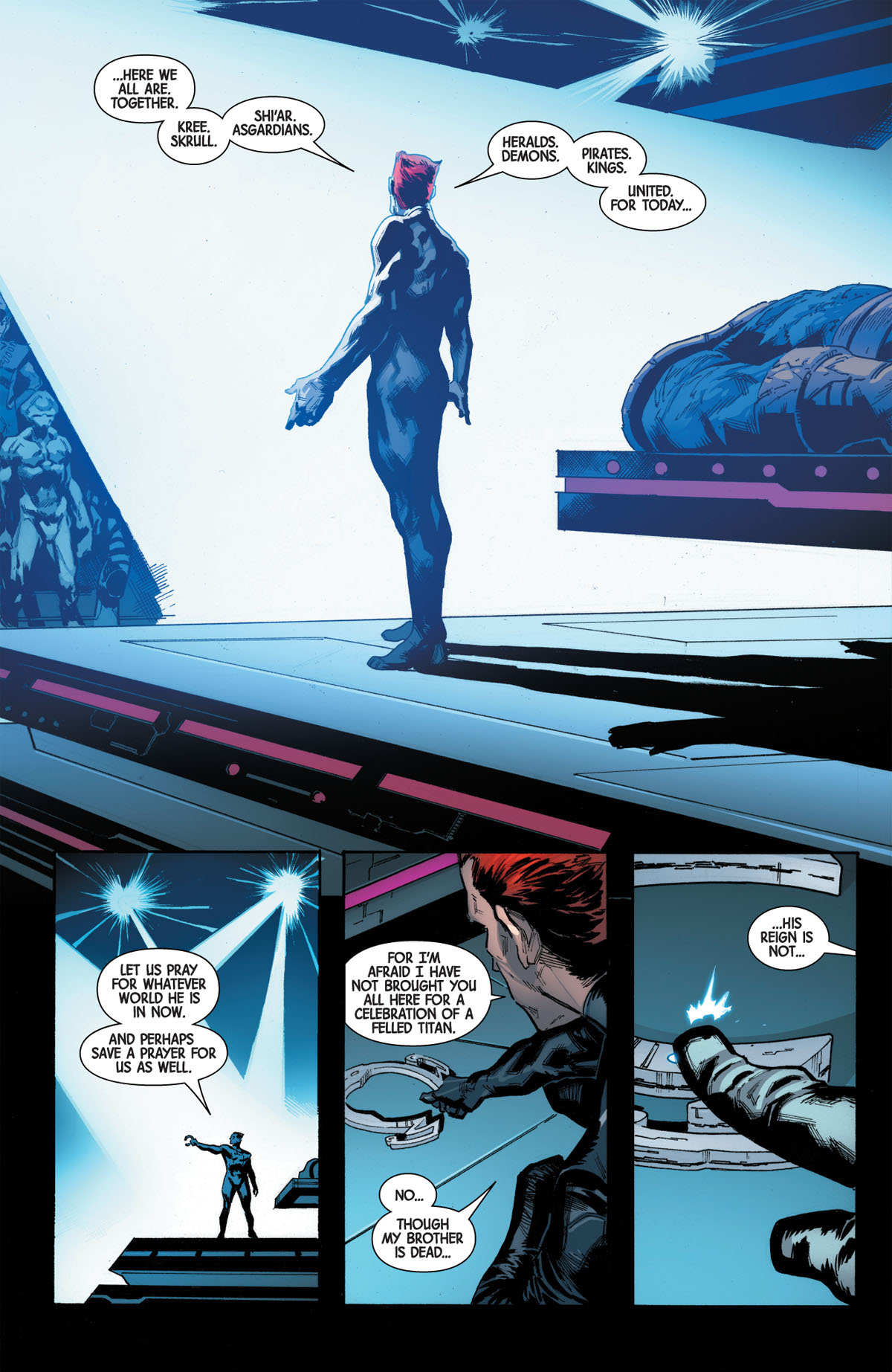 Guardians of the Galaxy #1 page 3