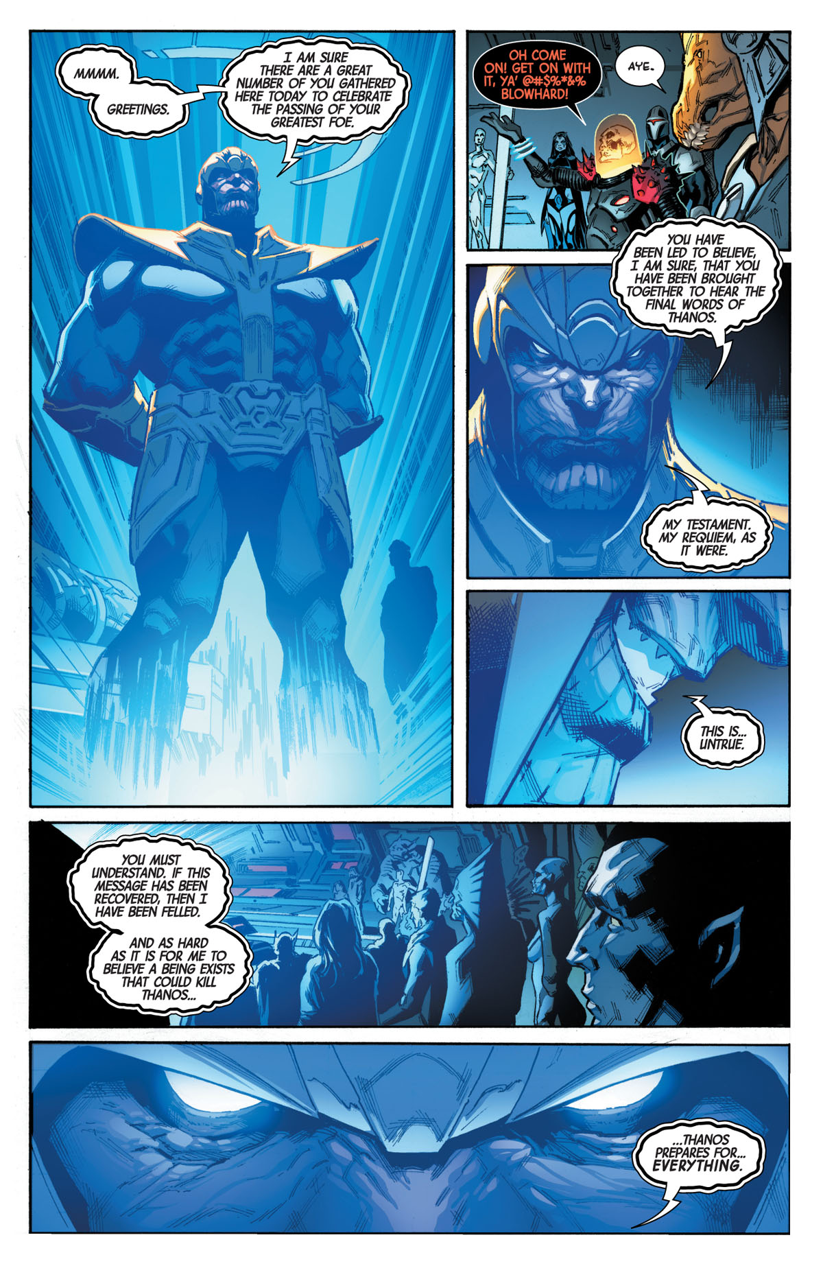 Guardians of the Galaxy #1 page 4