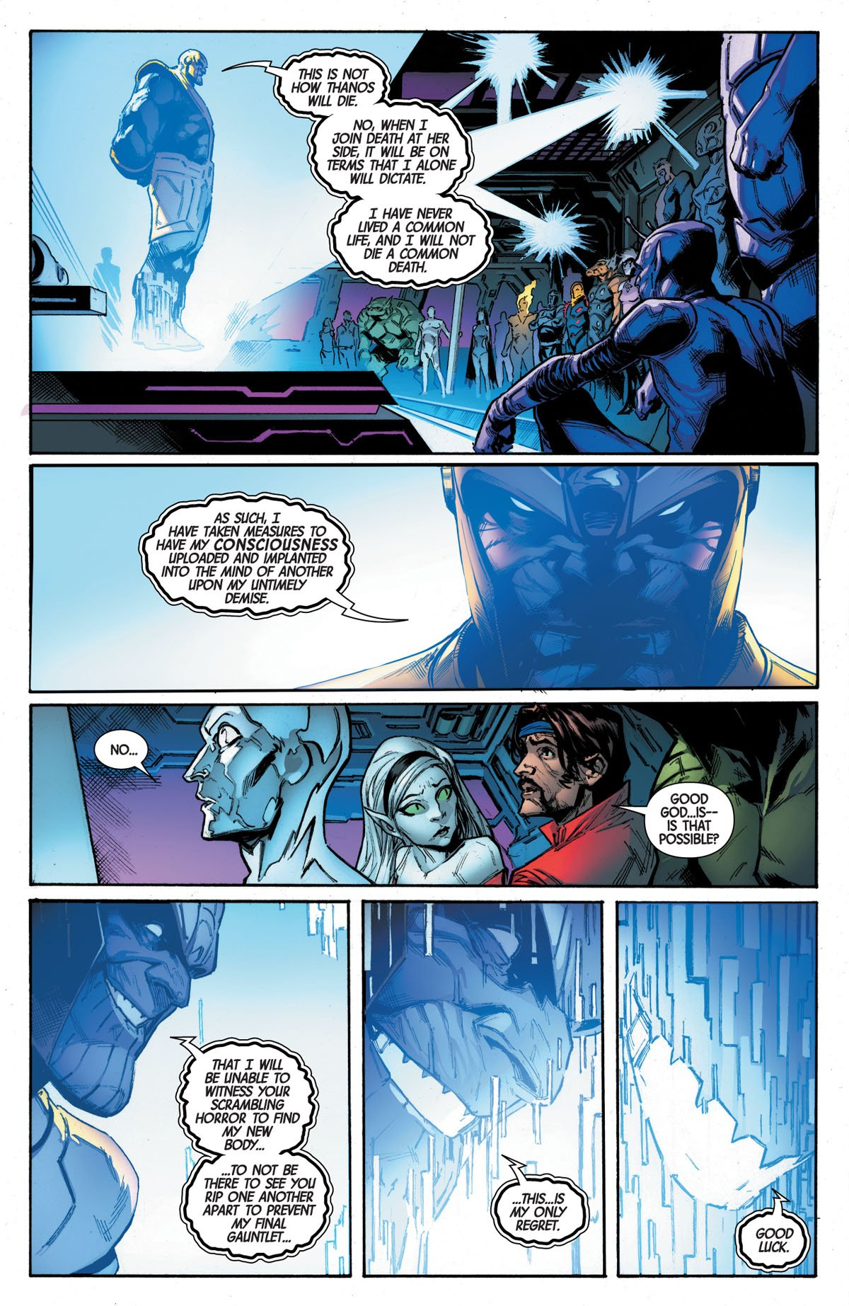Guardians of the Galaxy #1 page 5