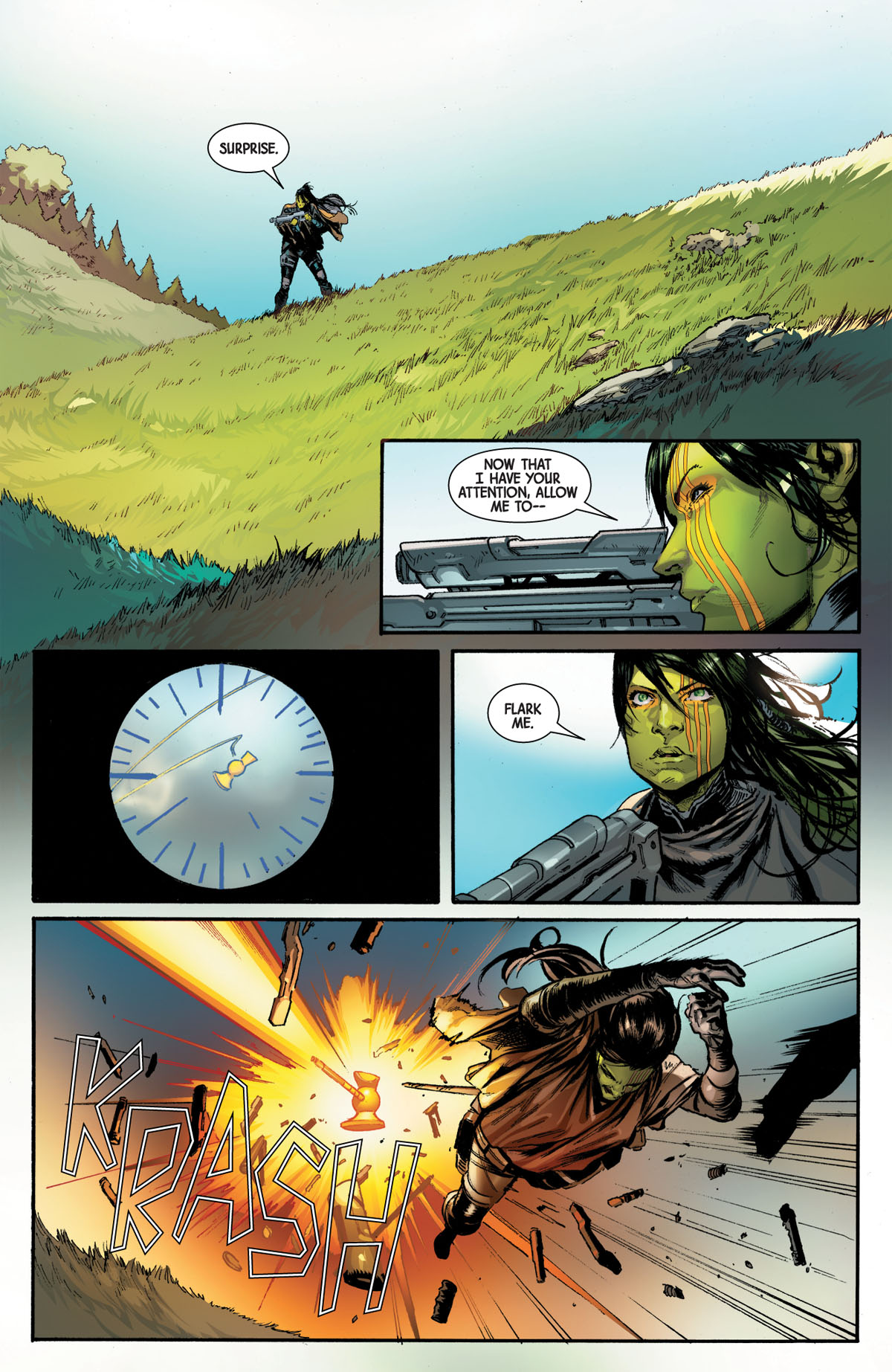 Guardians of the Galaxy #4 page 2