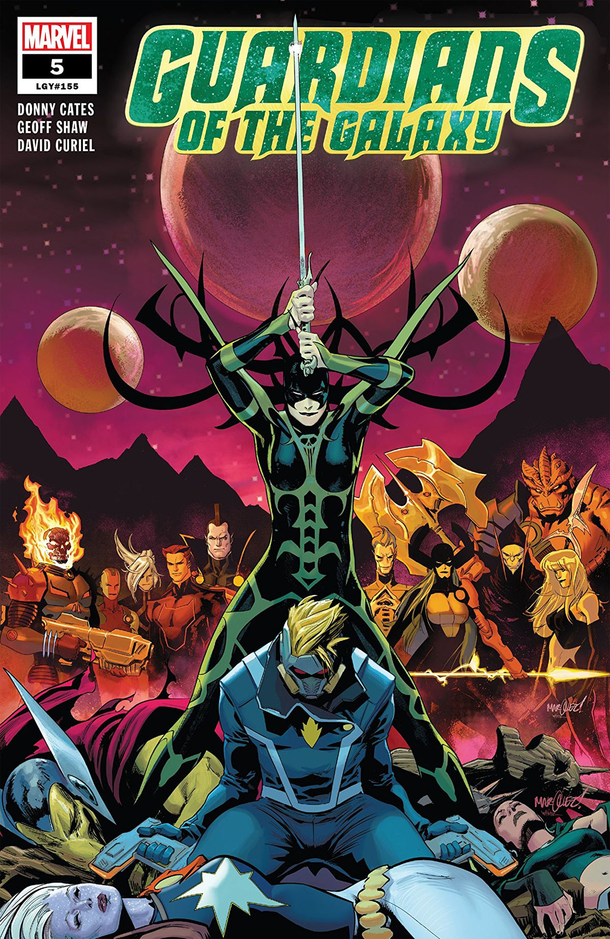 Guardians of the Galaxy #5 cover