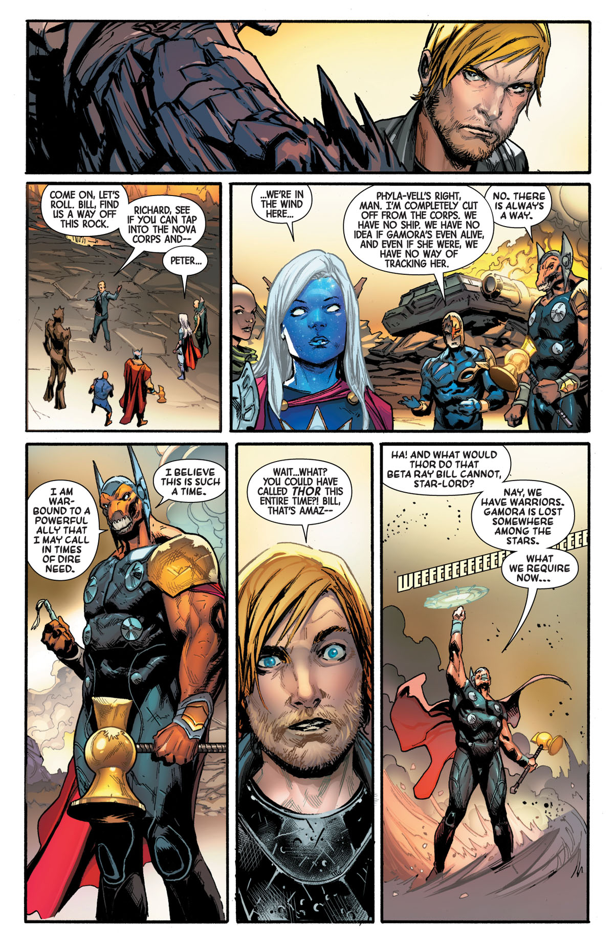 Guardians of the Galaxy #5 page 3