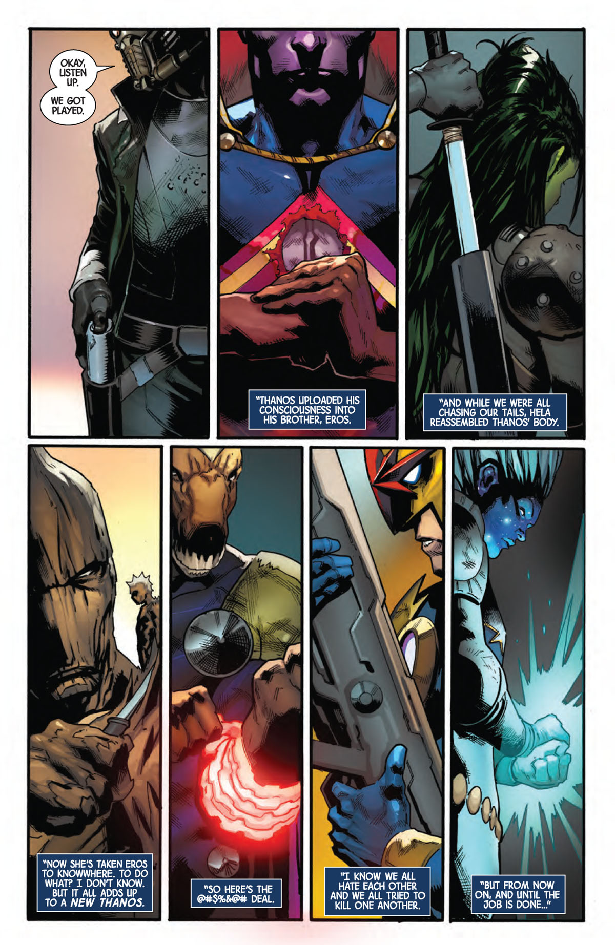 Guardians of the Galaxy #6 page 1