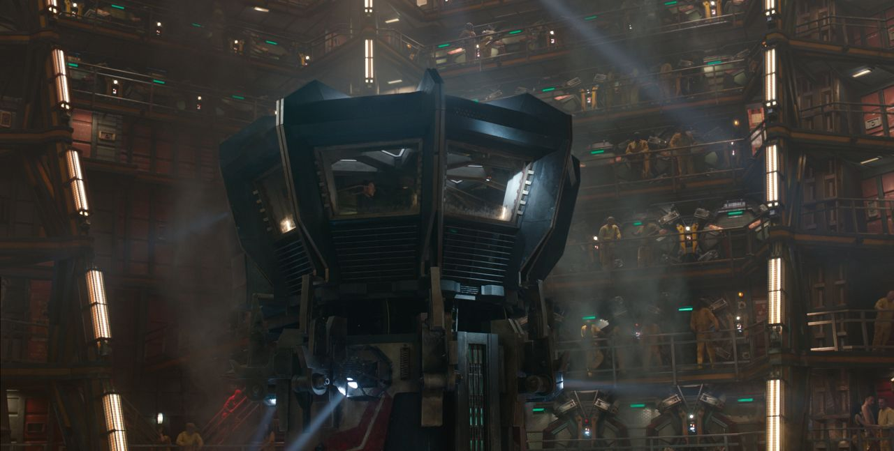 Marvel's Guardians Of The Galaxy The Kyln Ph: Film Frame ©Marvel 2014