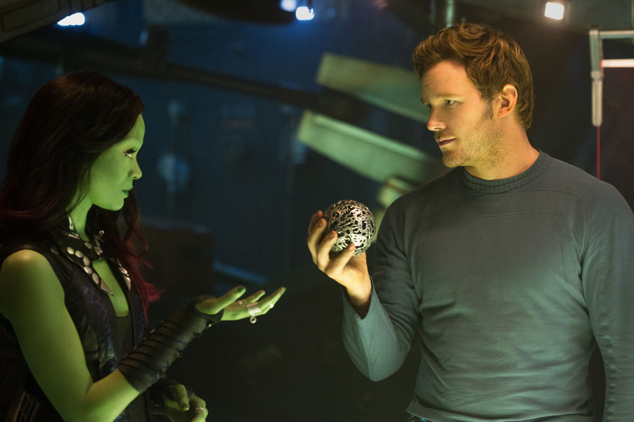 Marvel's Guardians Of The Galaxy..Peter Quill/Star-Lord (Chris Pratt)..Ph: Jay Maidment..?Marvel 2014