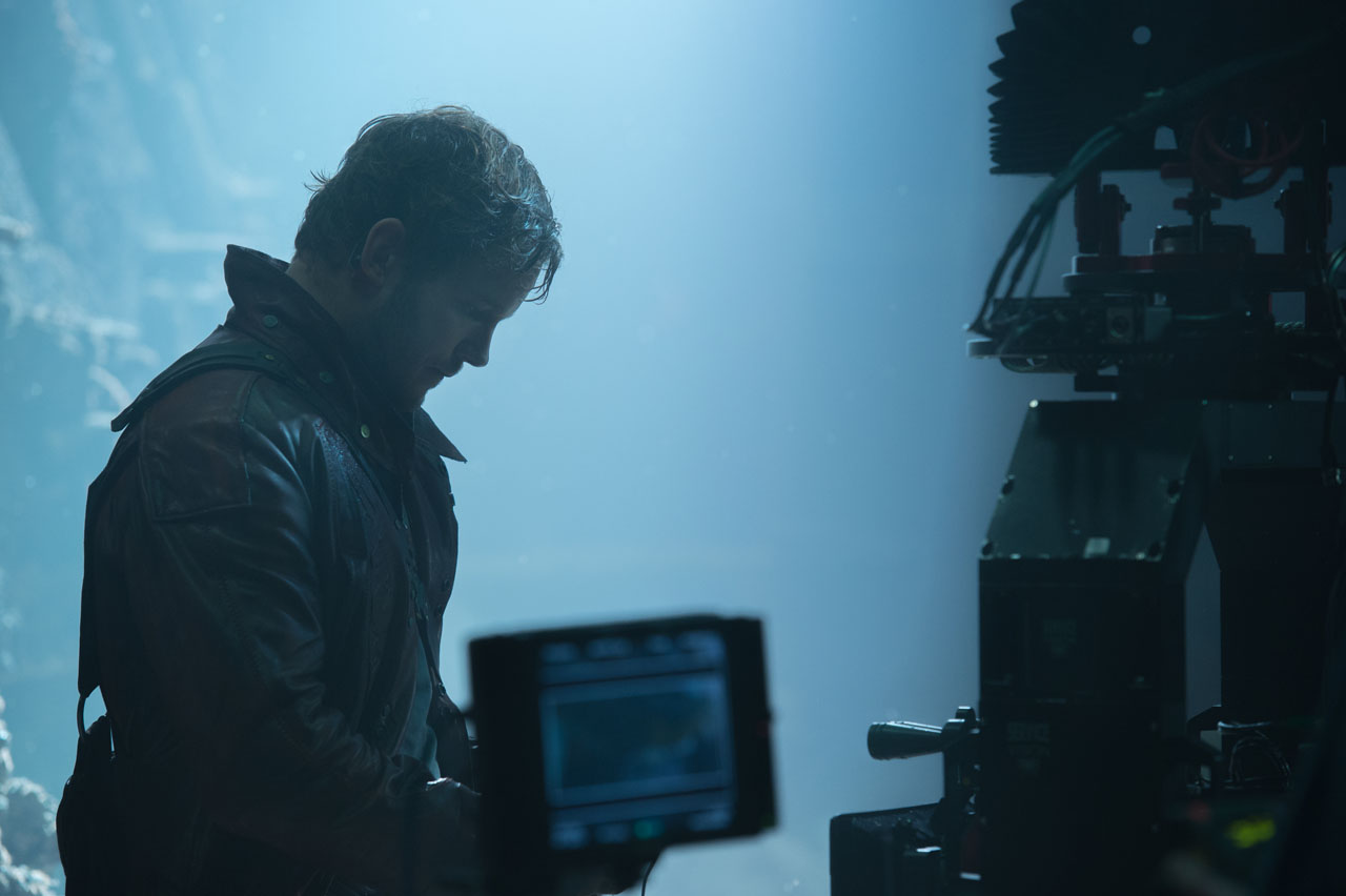 Marvel's Guardians Of The Galaxy Peter Quill/Star-Lord (Chris Pratt) Ph: Jay Maidment ©Marvel 2014