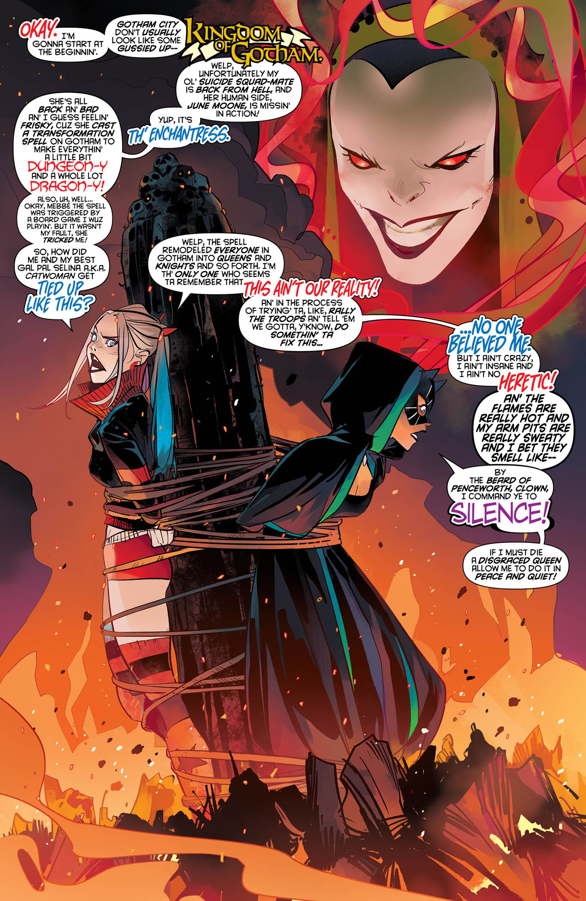 Harley Quinn #62 page 1