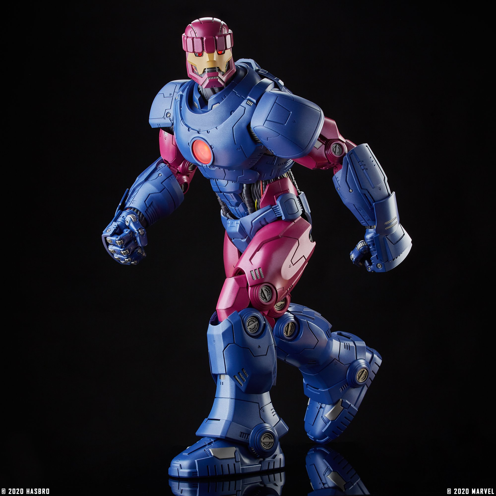 Sentinel articulated pose.