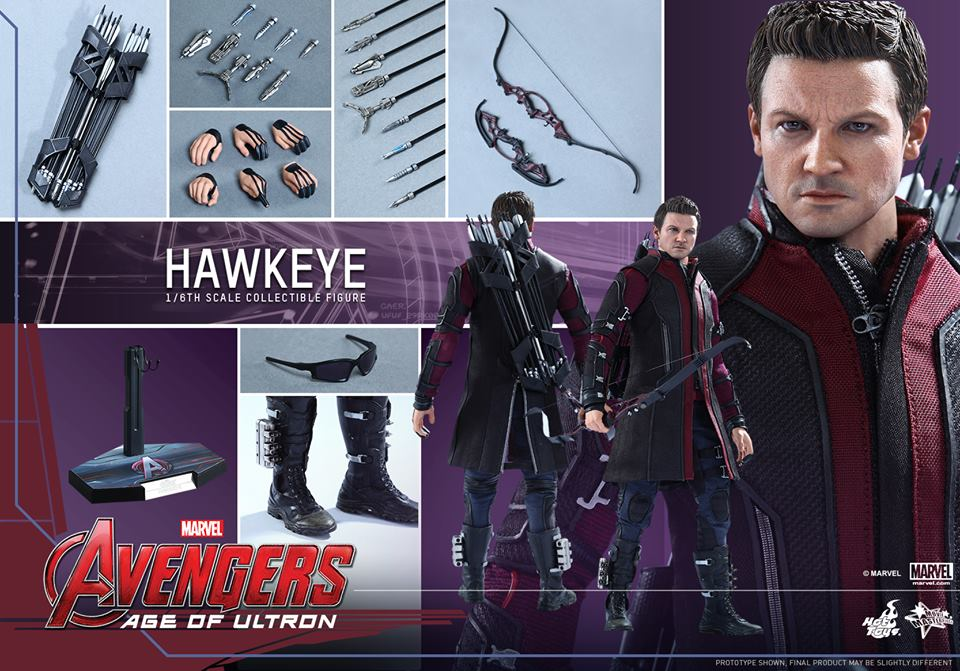 Hawkeye Hot Toys Collectible Figure
