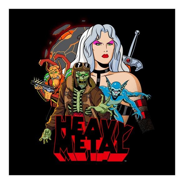 Heavy Metal Planet Print