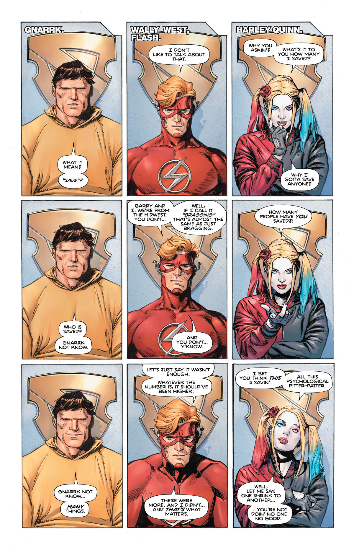 Heroes In Crisis #6 page 1