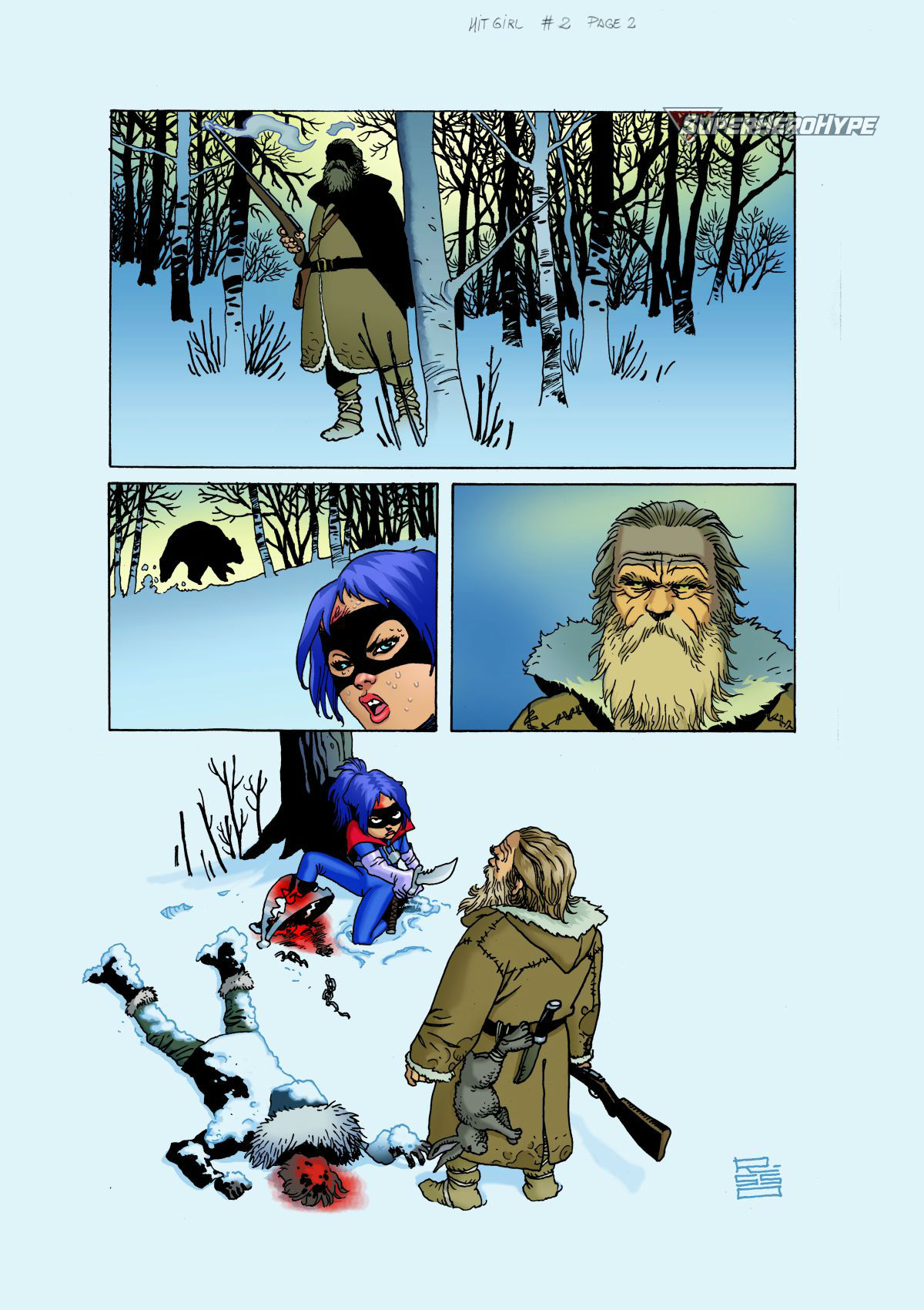 Hit-Girl #6 Page 2